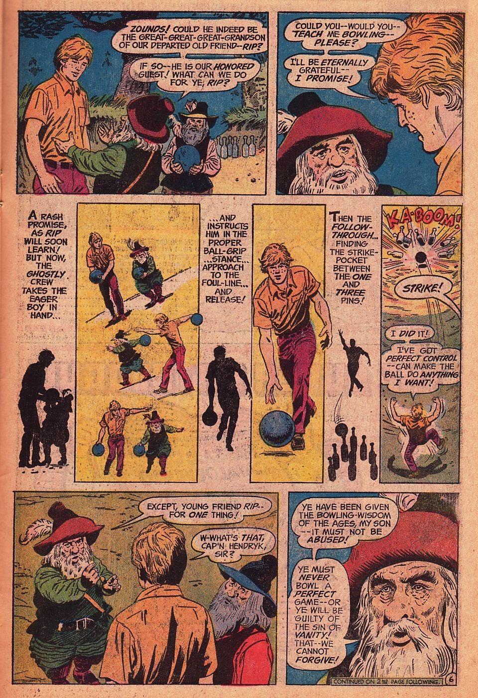 Read online Strange Sports Stories (1973) comic -  Issue #1 - 20