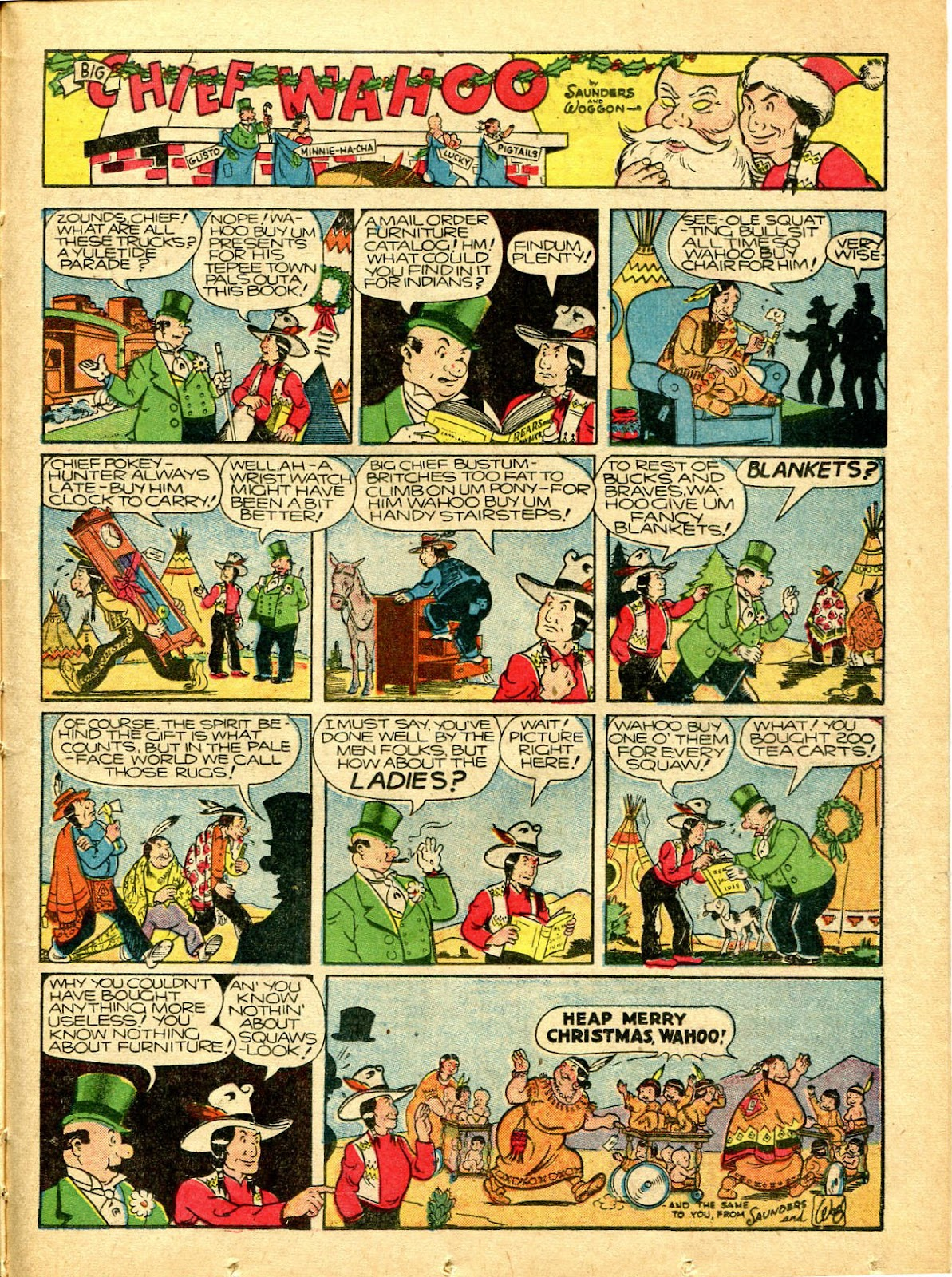 Read online Famous Funnies comic -  Issue #77 - 42