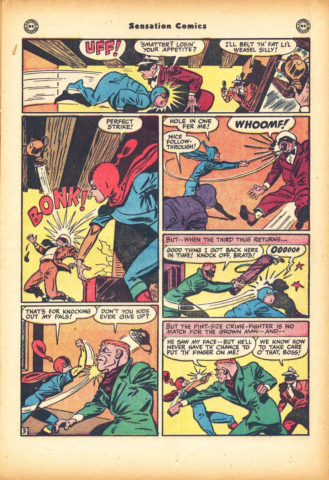 Read online Sensation (Mystery) Comics comic -  Issue #78 - 19
