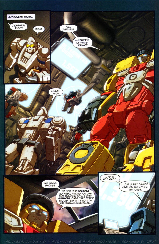 Read online Transformers Armada comic -  Issue #15 - 5