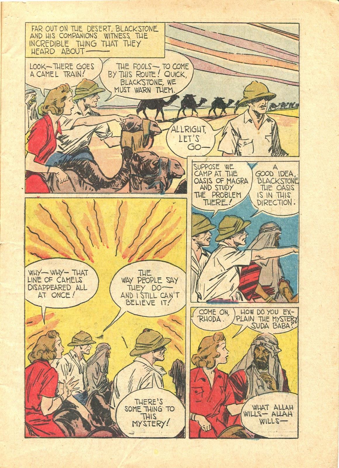 Read online Super-Magician Comics comic -  Issue #21 - 5