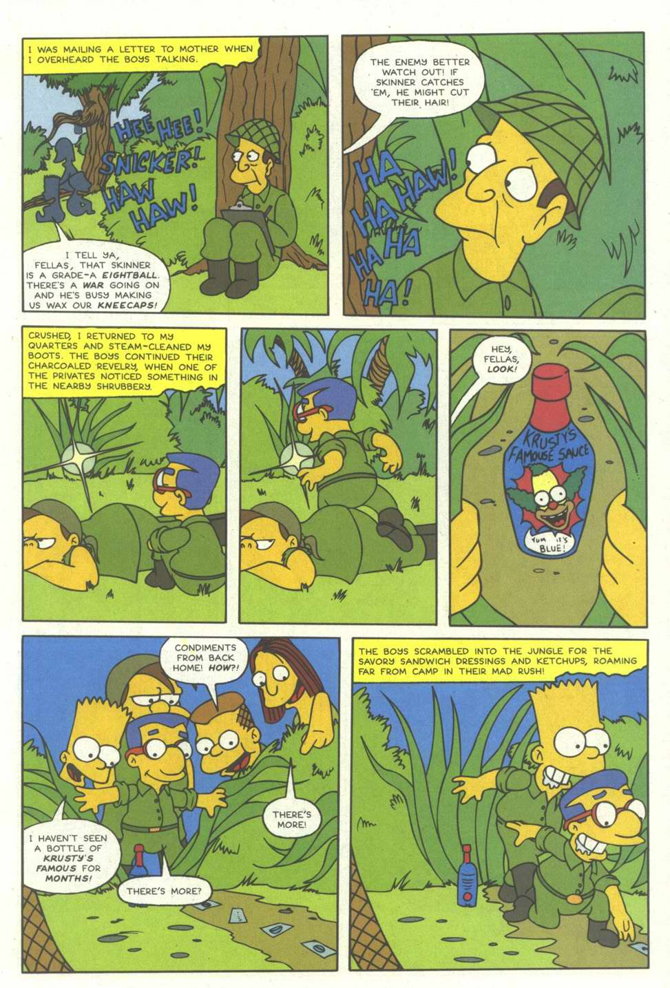 Read online Simpsons Comics comic -  Issue #12 - 25