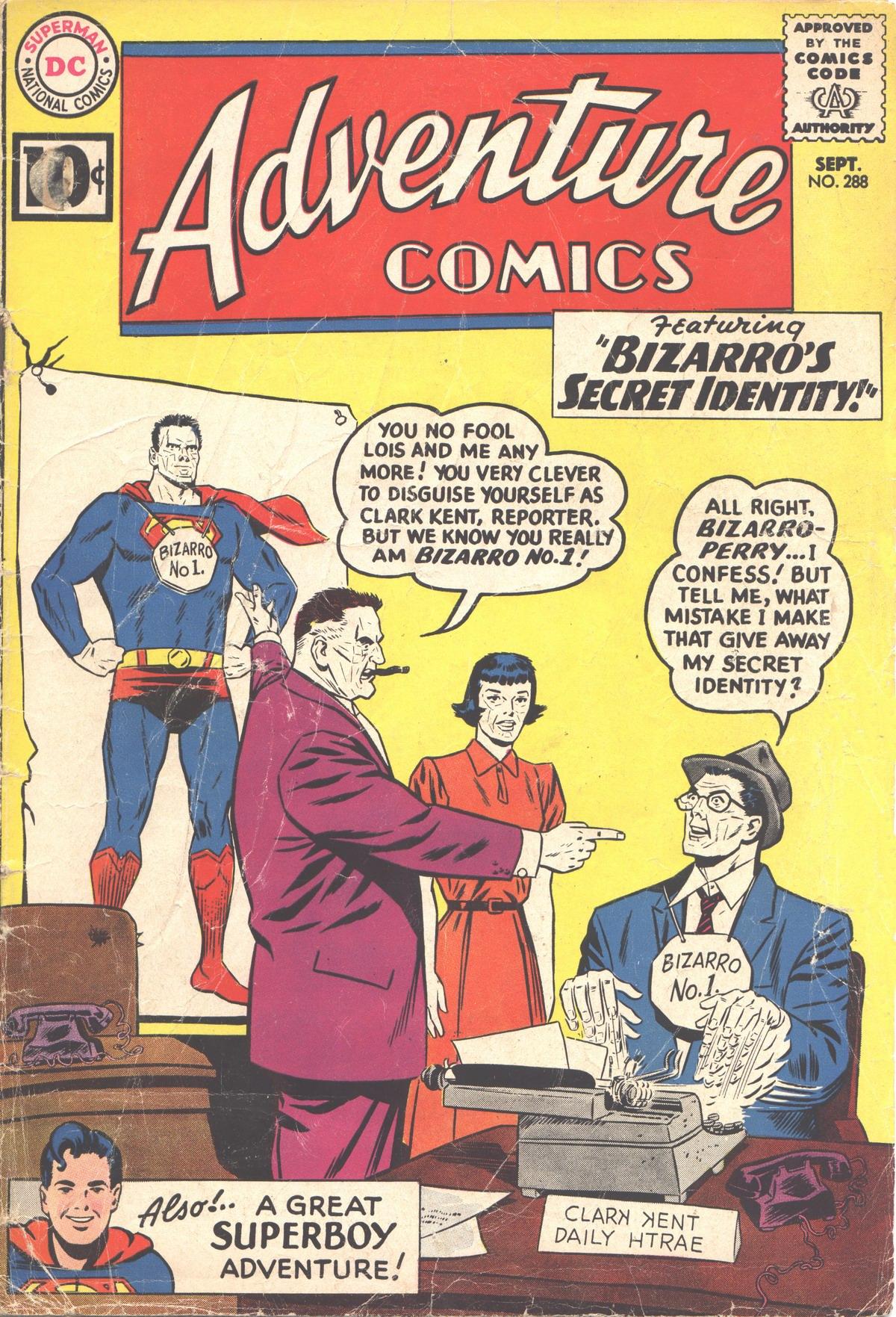 Read online Adventure Comics (1938) comic -  Issue #288 - 1
