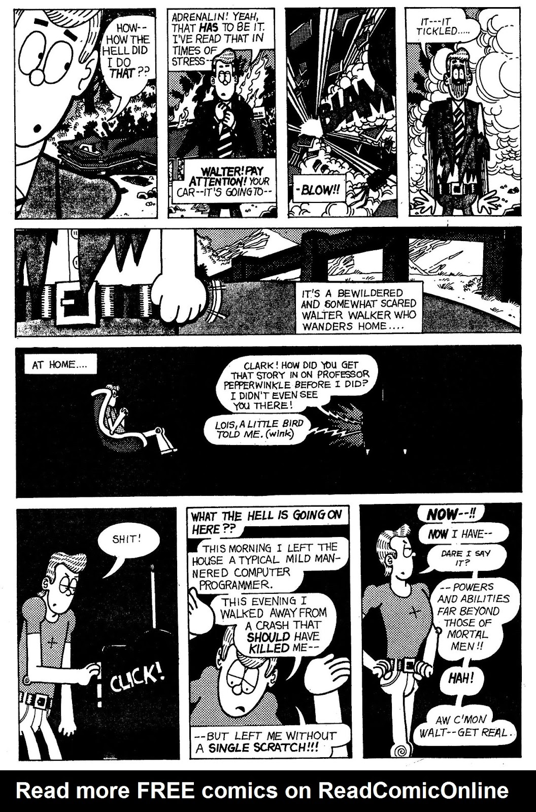 Read online The Nearly Complete Essential Hembeck Archives Omnibus comic -  Issue # TPB (Part 6) - 6