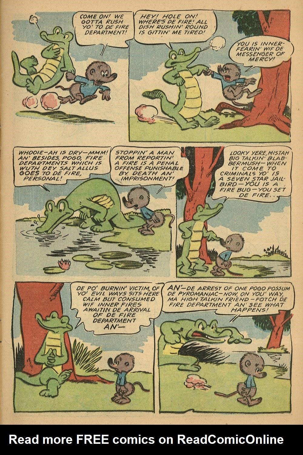 Read online Animal Comics comic -  Issue #24 - 5