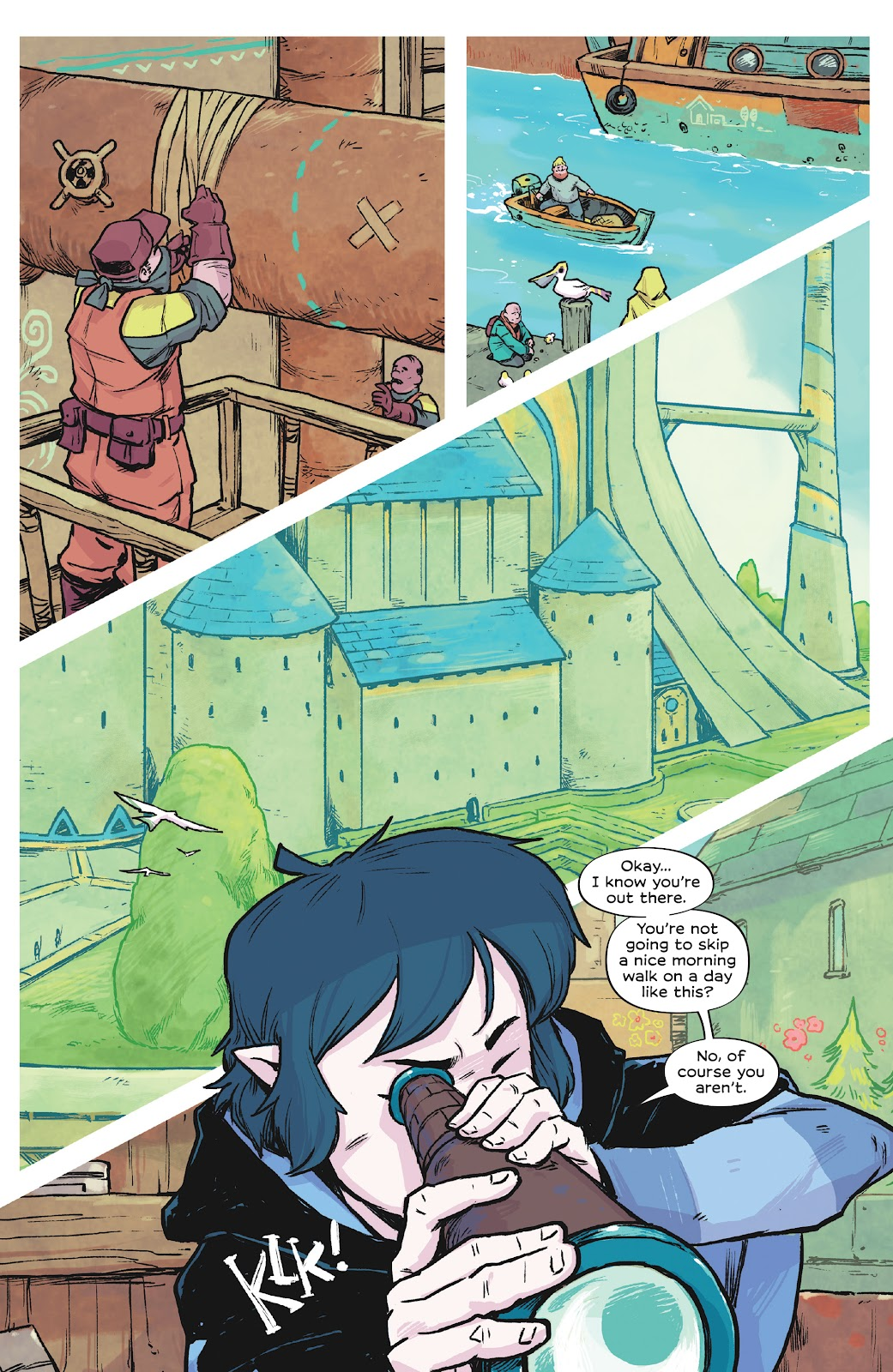 Read online Wynd comic -  Issue #1 - 26