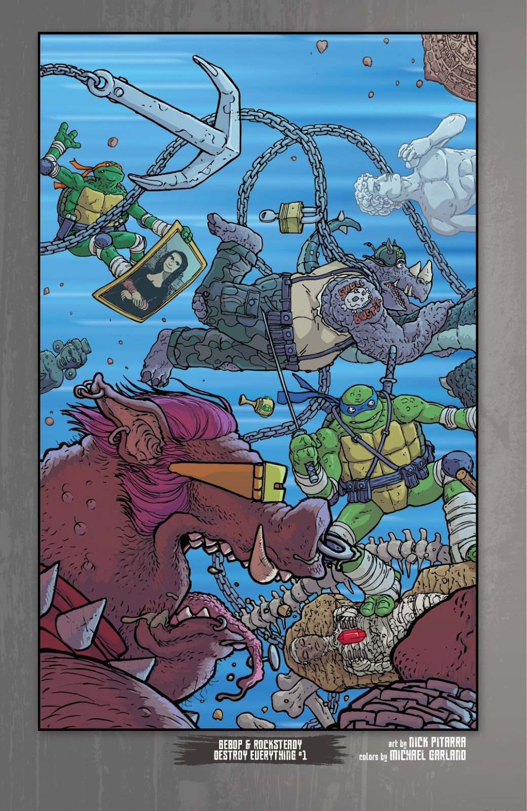 Read online Teenage Mutant Ninja Turtles: The IDW Collection comic -  Issue # TPB 8 (Part 1) - 7
