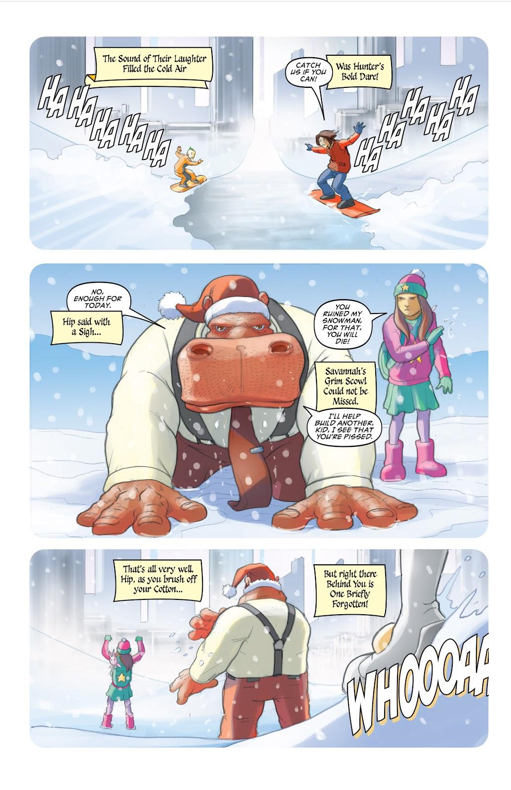Read online Elephantmen 2261 Season Two: The Pentalion Job comic -  Issue # TPB - 105