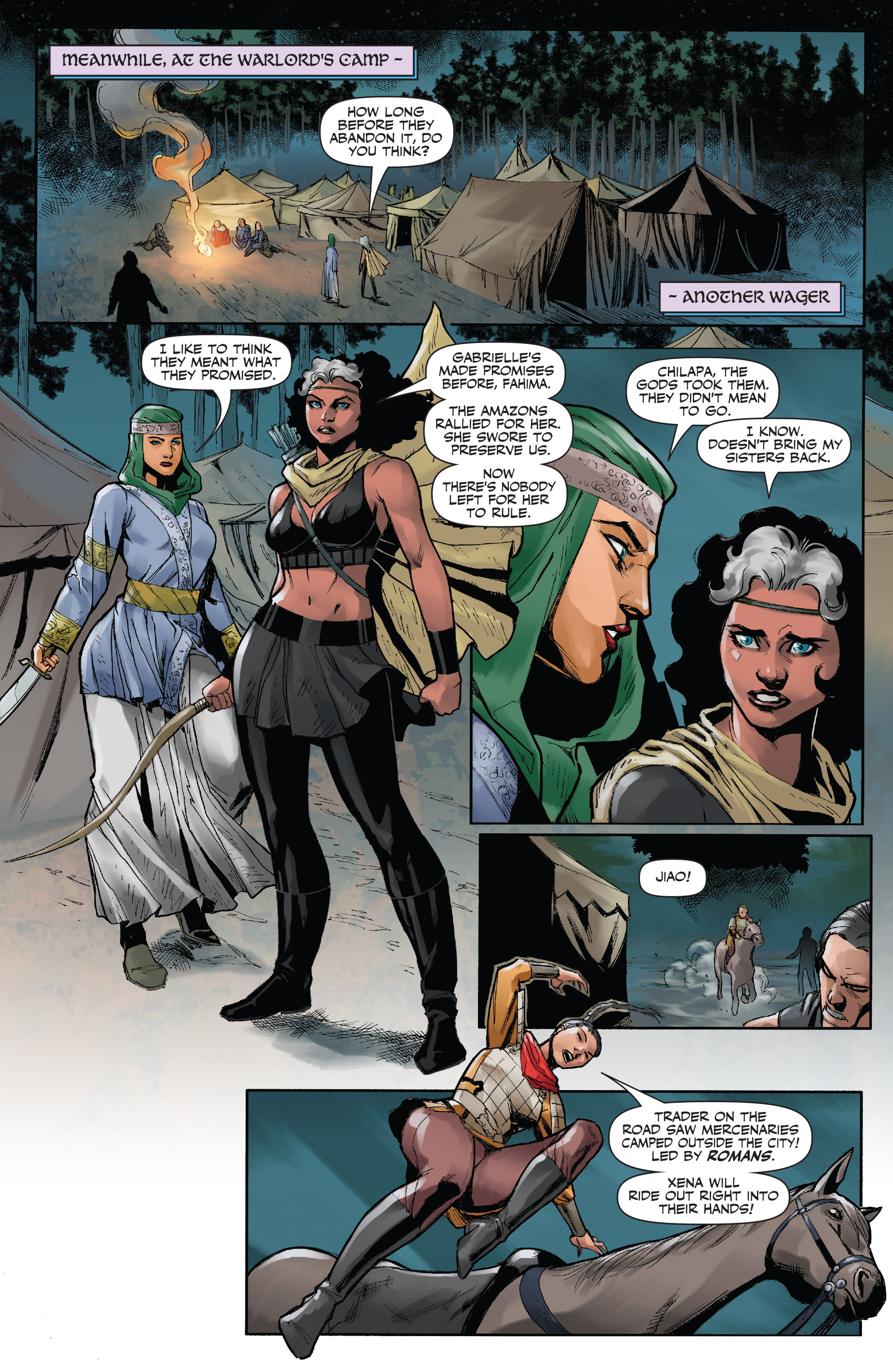 Read online Xena: Warrior Princess (2016) comic -  Issue #3 - 7