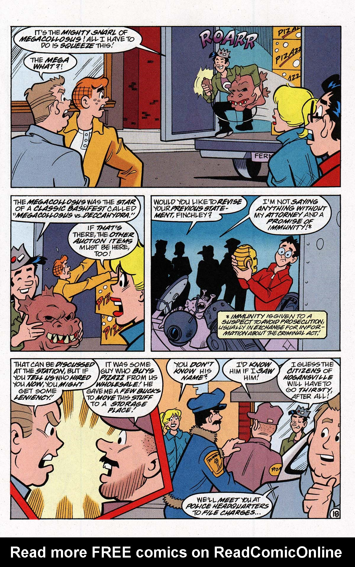 Read online Archie's Weird Mysteries comic -  Issue #27 - 25