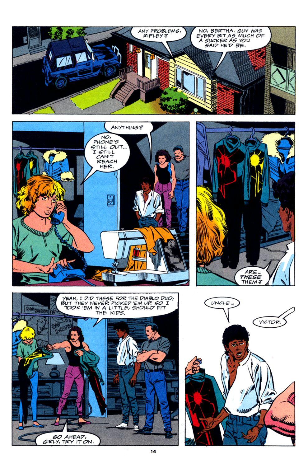 Read online Powerline comic -  Issue #2 - 16
