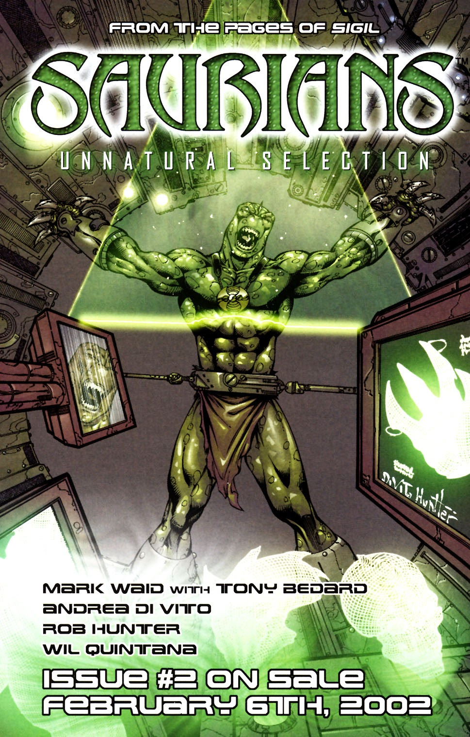 Read online Saurians: Unnatural Selection comic -  Issue #1 - 27