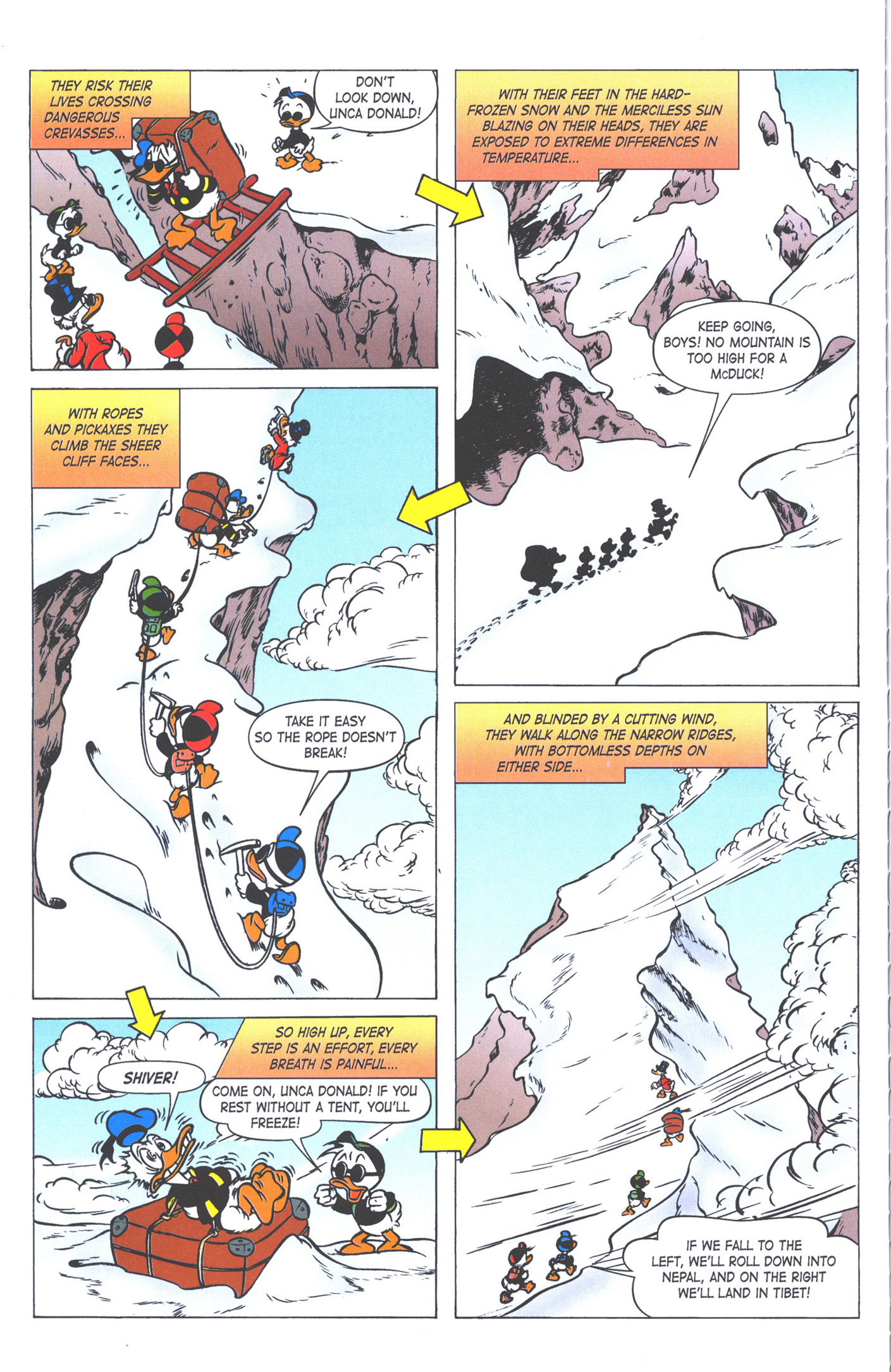 Read online Uncle Scrooge (1953) comic -  Issue #371 - 62