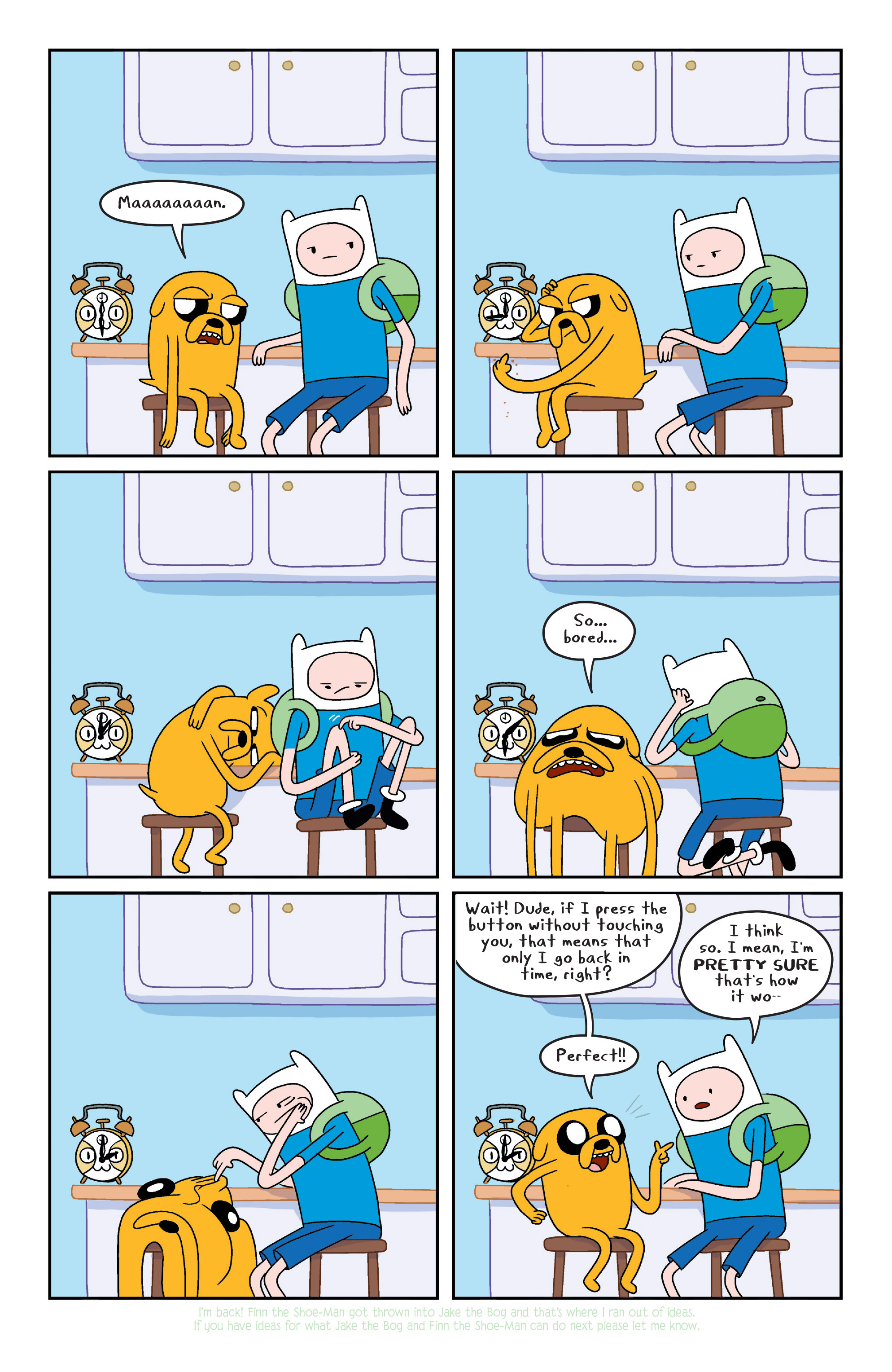 Read online Adventure Time comic -  Issue #6 - 15