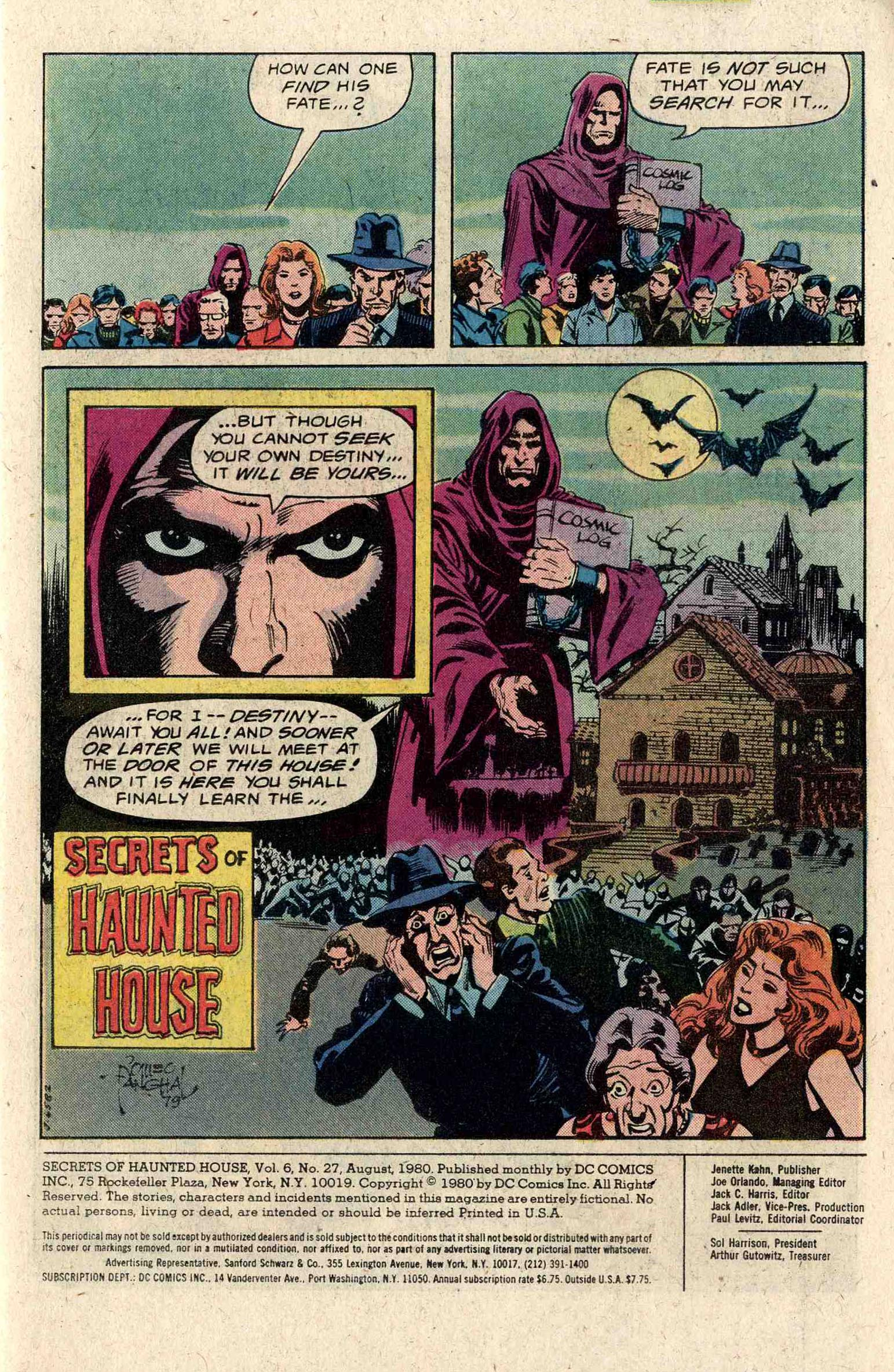 Read online Secrets of Haunted House comic -  Issue #27 - 3