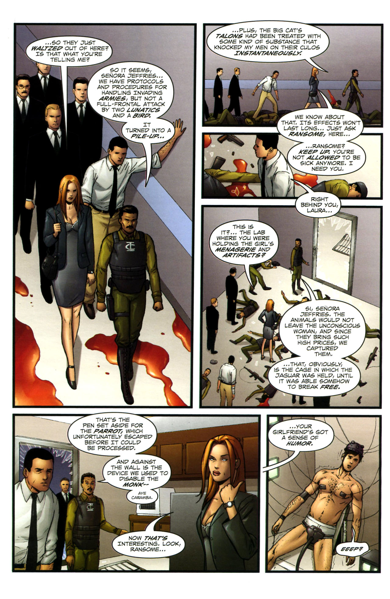 Read online Sheena, Queen of the Jungle comic -  Issue #3 - 21