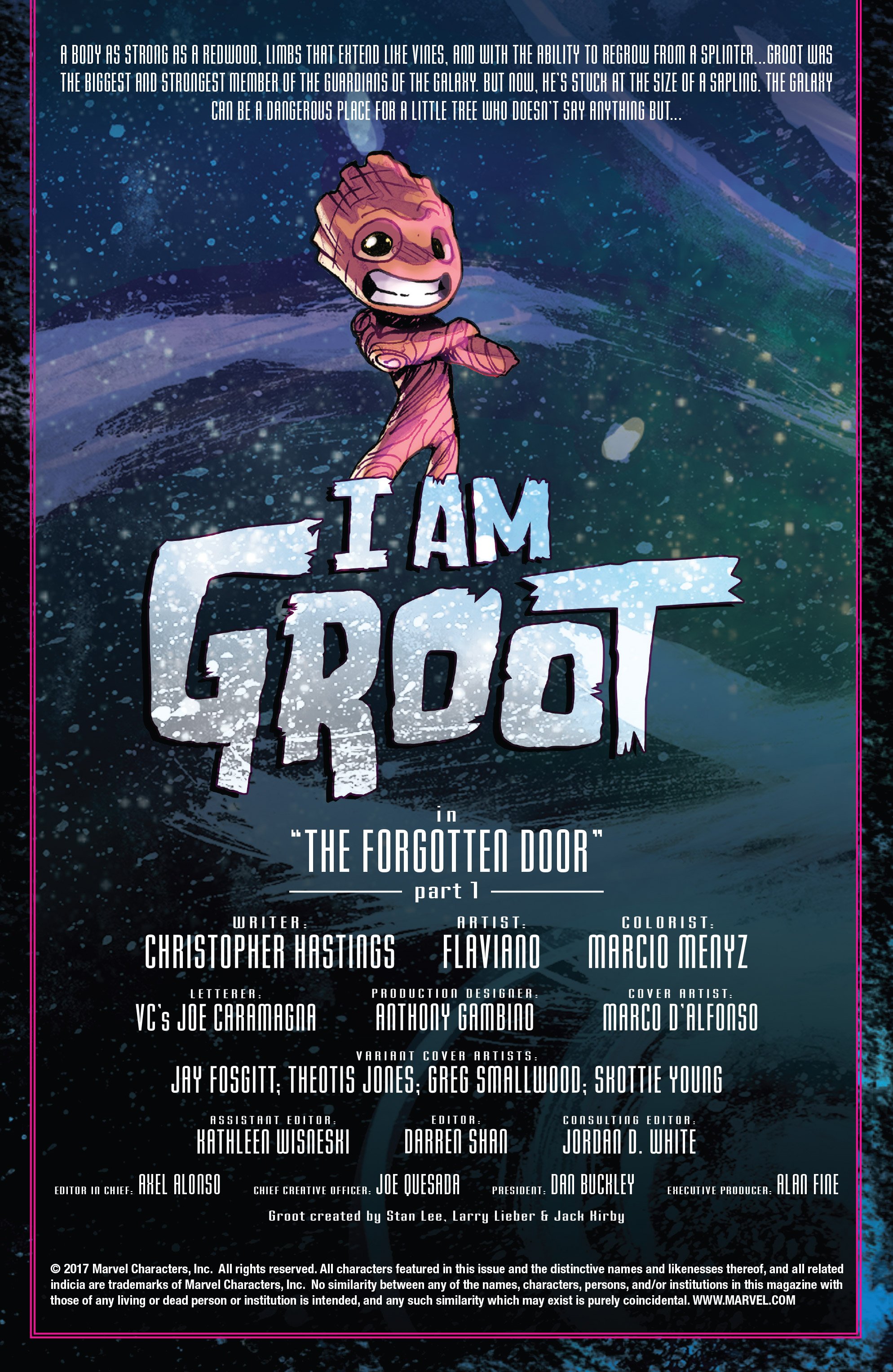 Read online I Am Groot comic -  Issue #1 - 2