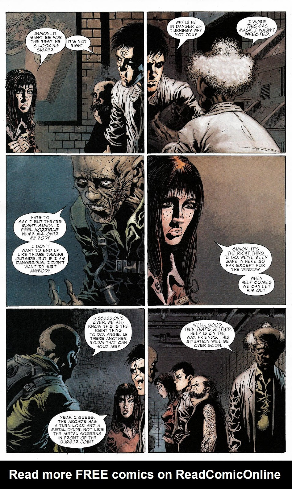 Read online Zombie (2006) comic -  Issue #2 - 13
