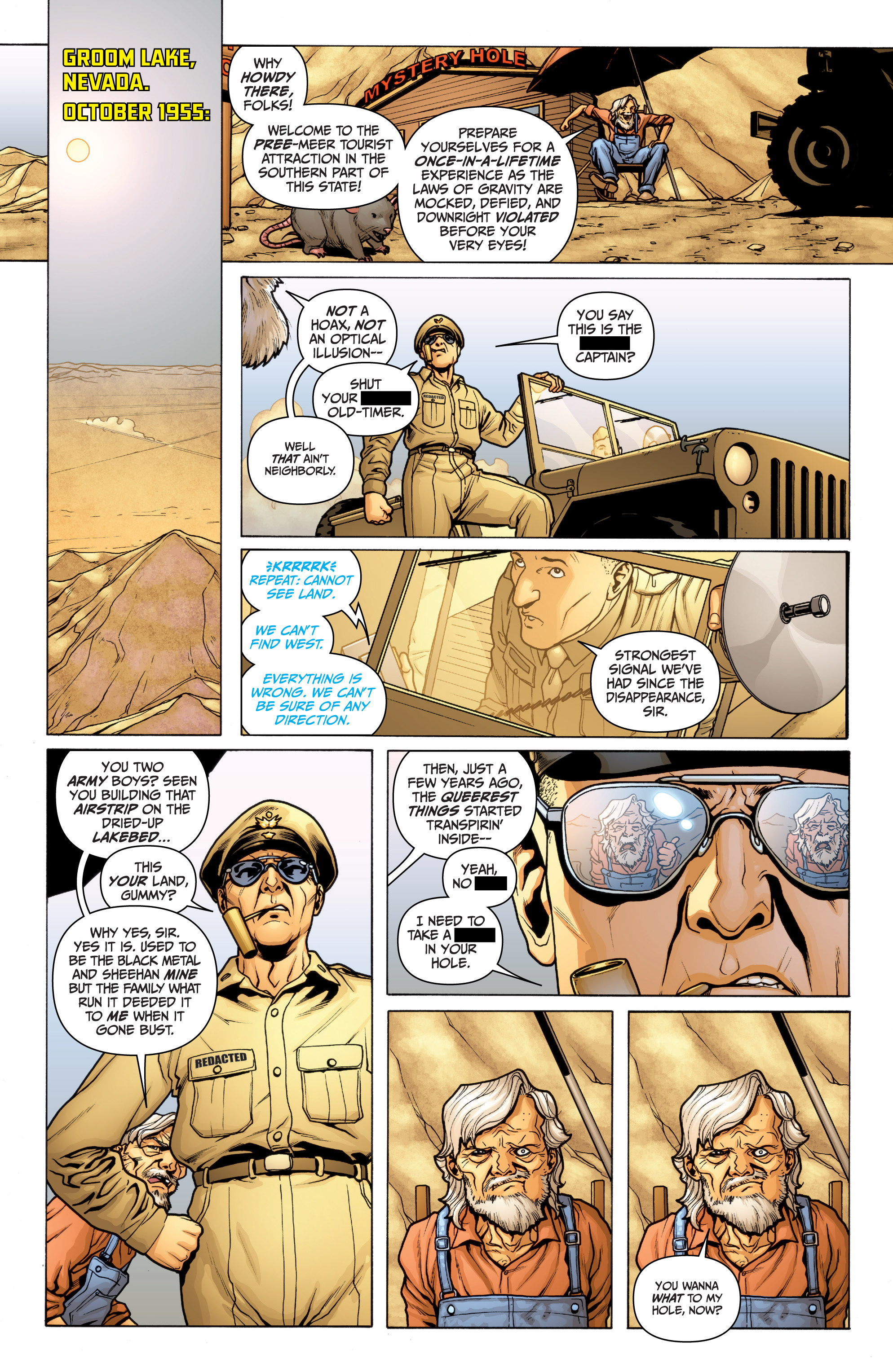 Read online Archer and Armstrong comic -  Issue #10 - 3