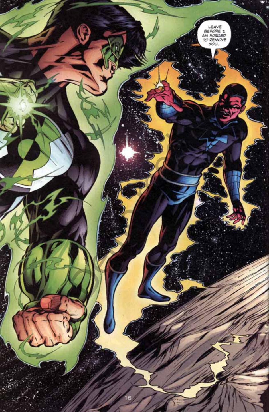 Read online Green Lantern: Our Worlds At War comic -  Issue # Full - 15