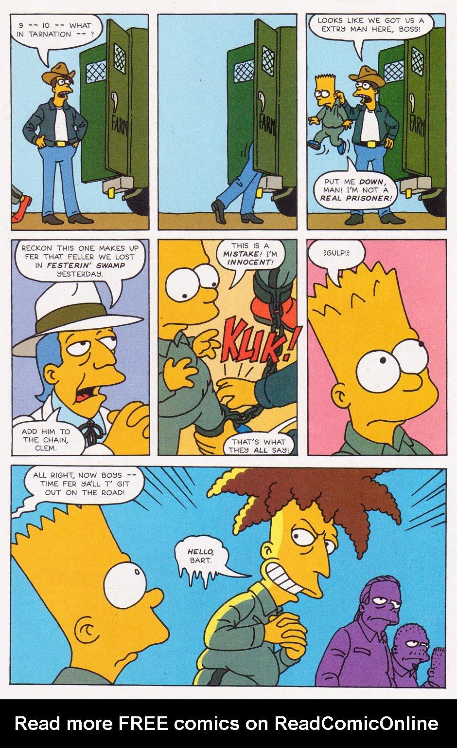 Read online Simpsons Comics comic -  Issue #2 - 15
