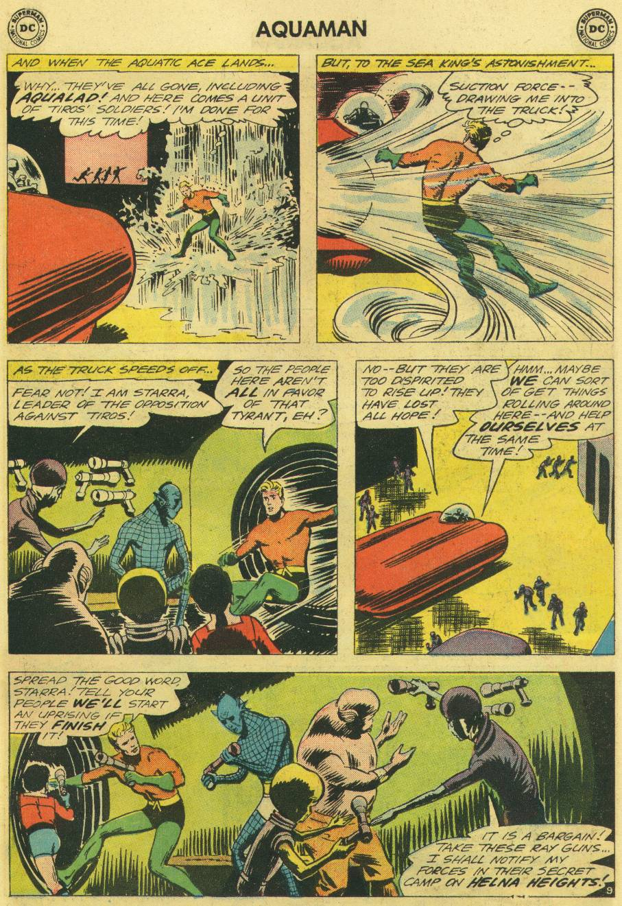 Read online Aquaman (1962) comic -  Issue #12 - 27