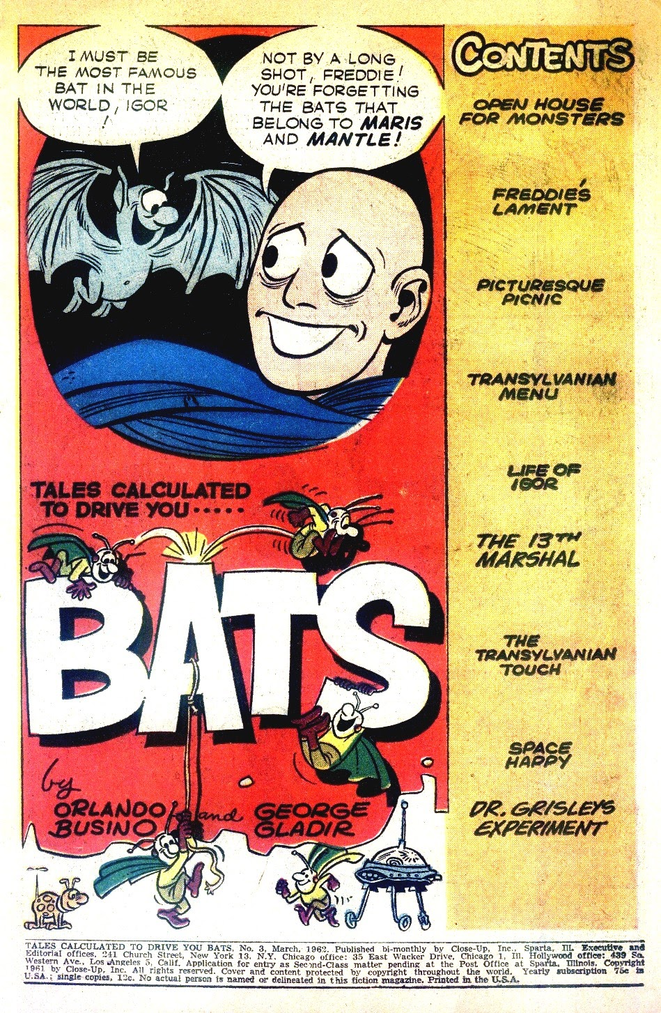 Read online Tales Calculated to Drive You Bats comic -  Issue #3 - 3