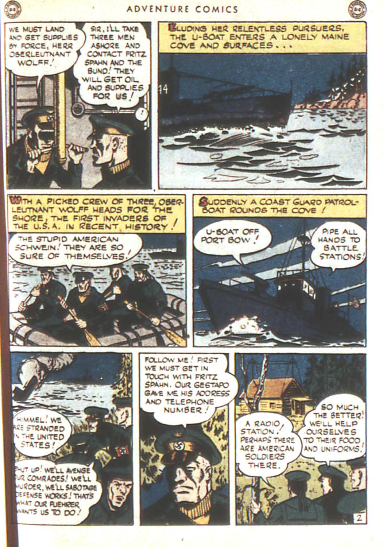 Read online Adventure Comics (1938) comic -  Issue #92 - 44