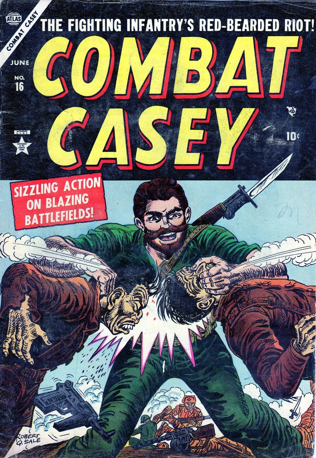 Combat Casey 16 Page 1