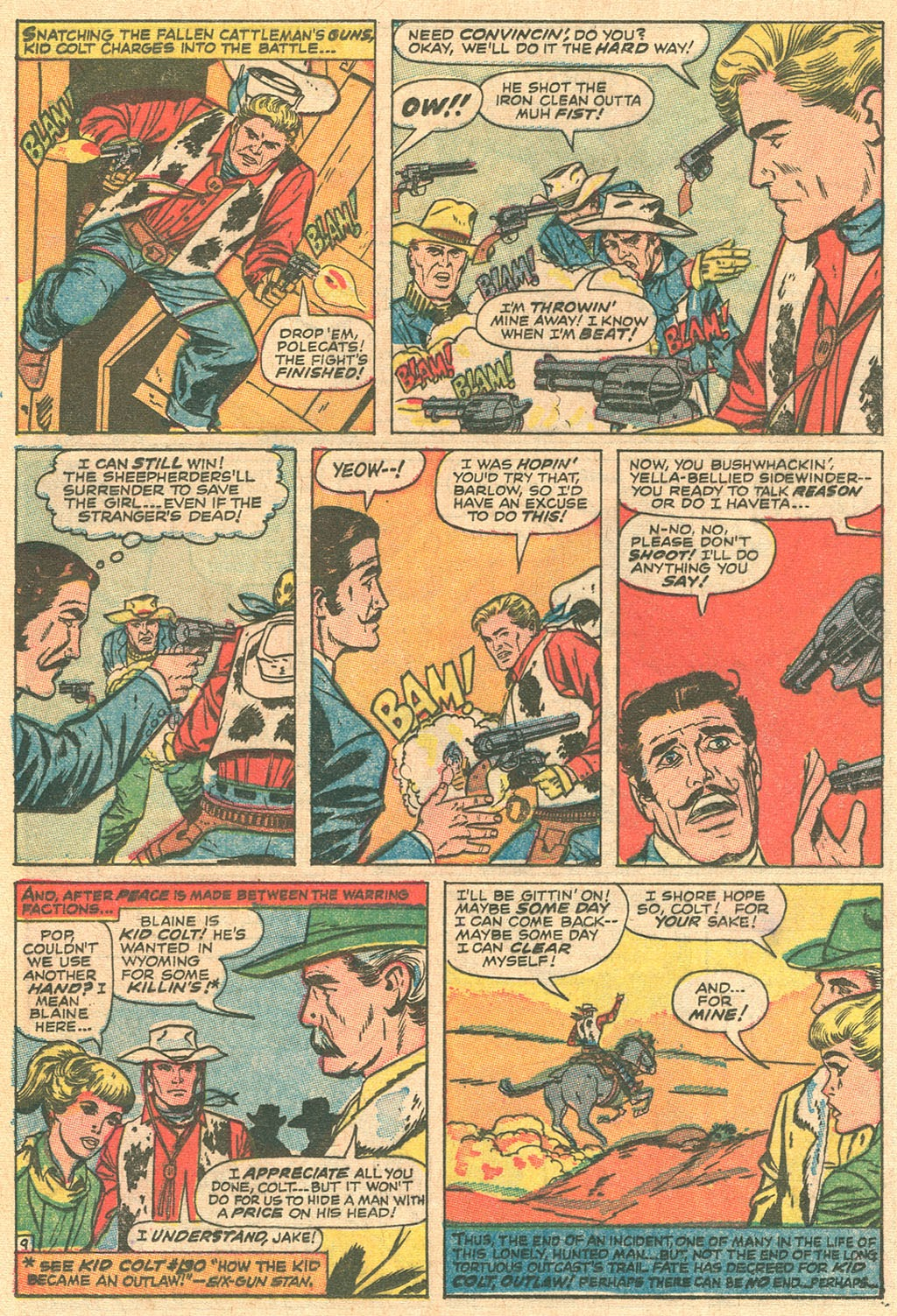 Kid Colt Outlaw issue 136 - Page 12