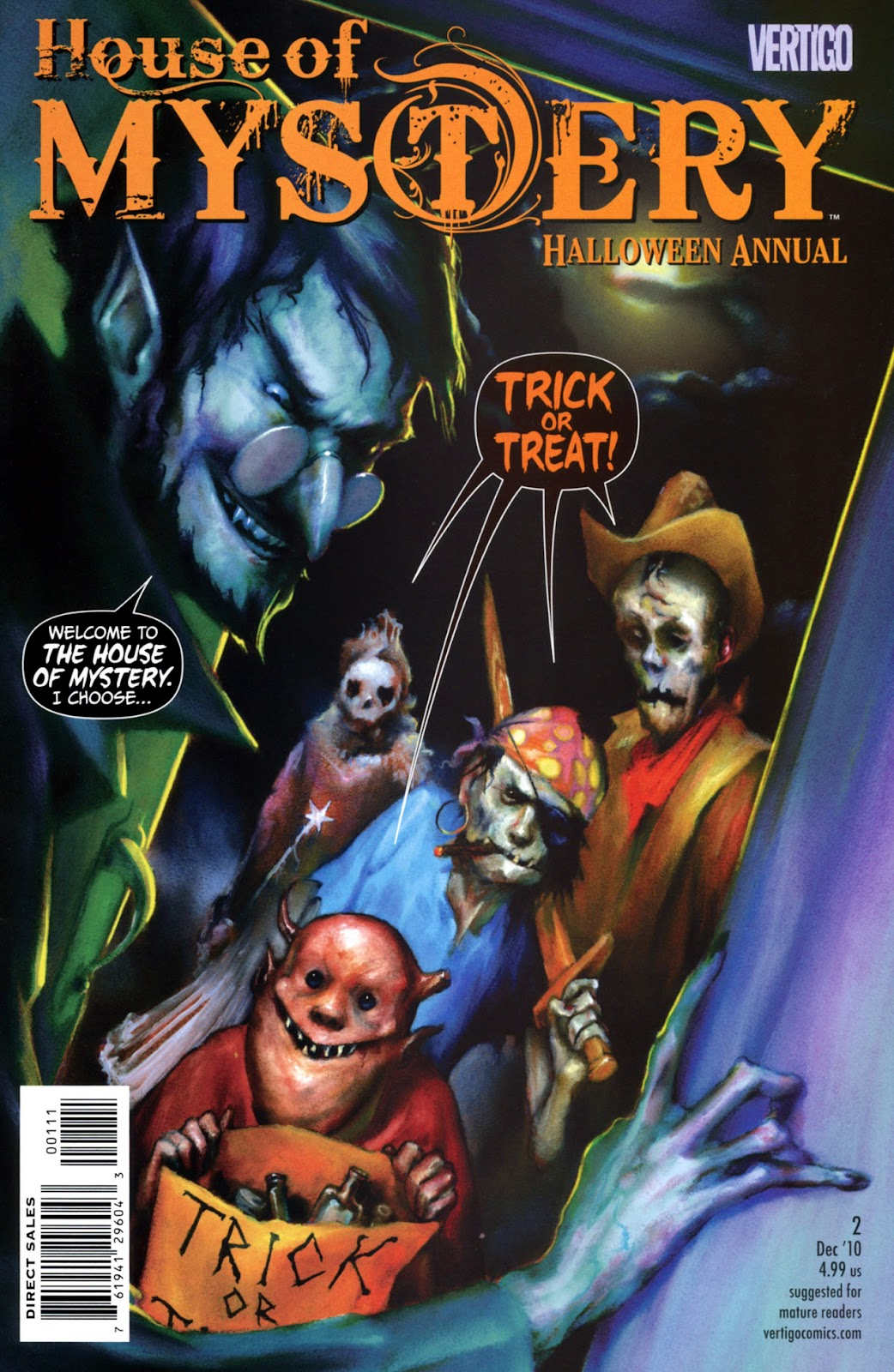 House of Mystery (2008) issue Annual 2 - Page 1