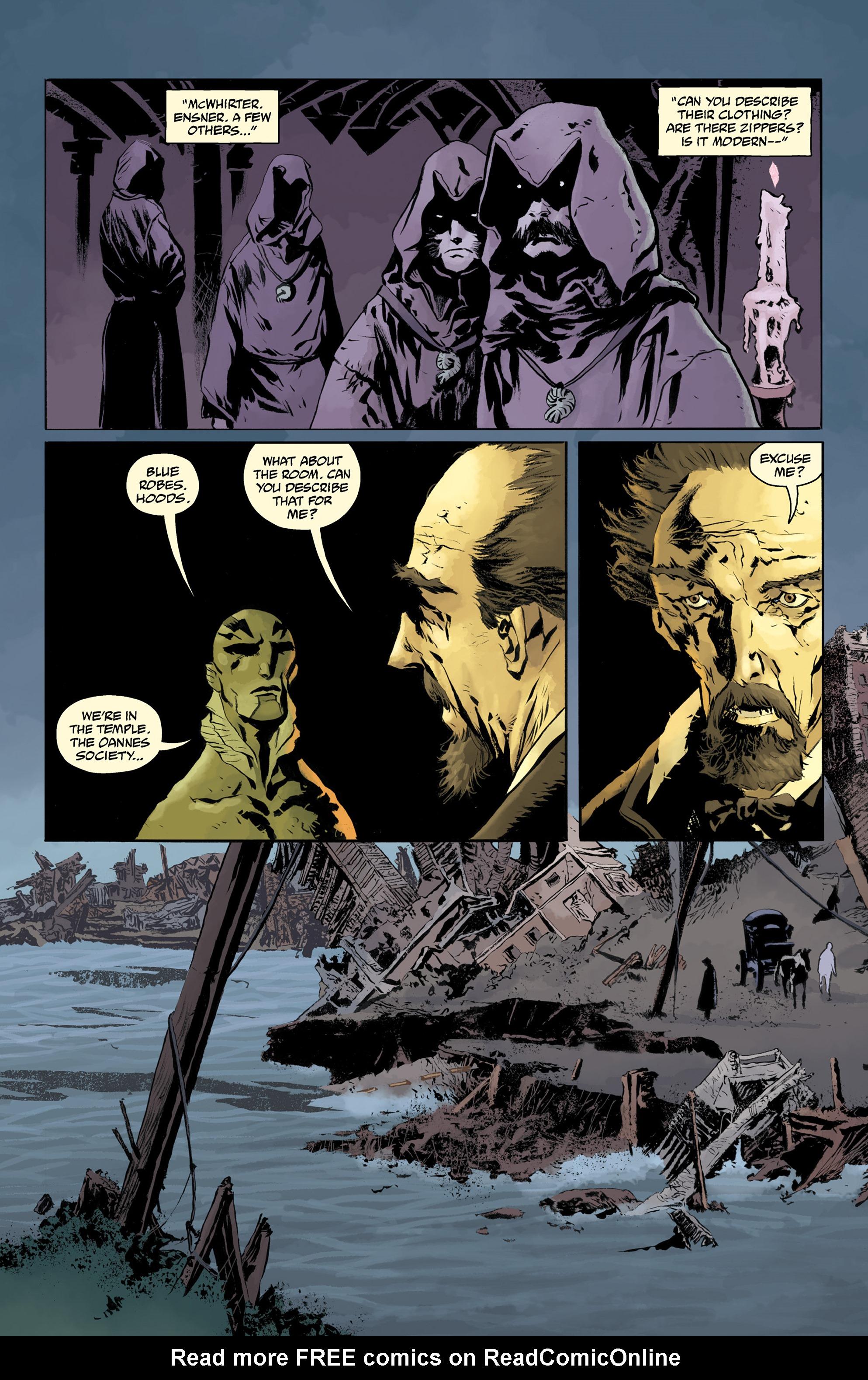 Read online Abe Sapien comic -  Issue #32 - 15