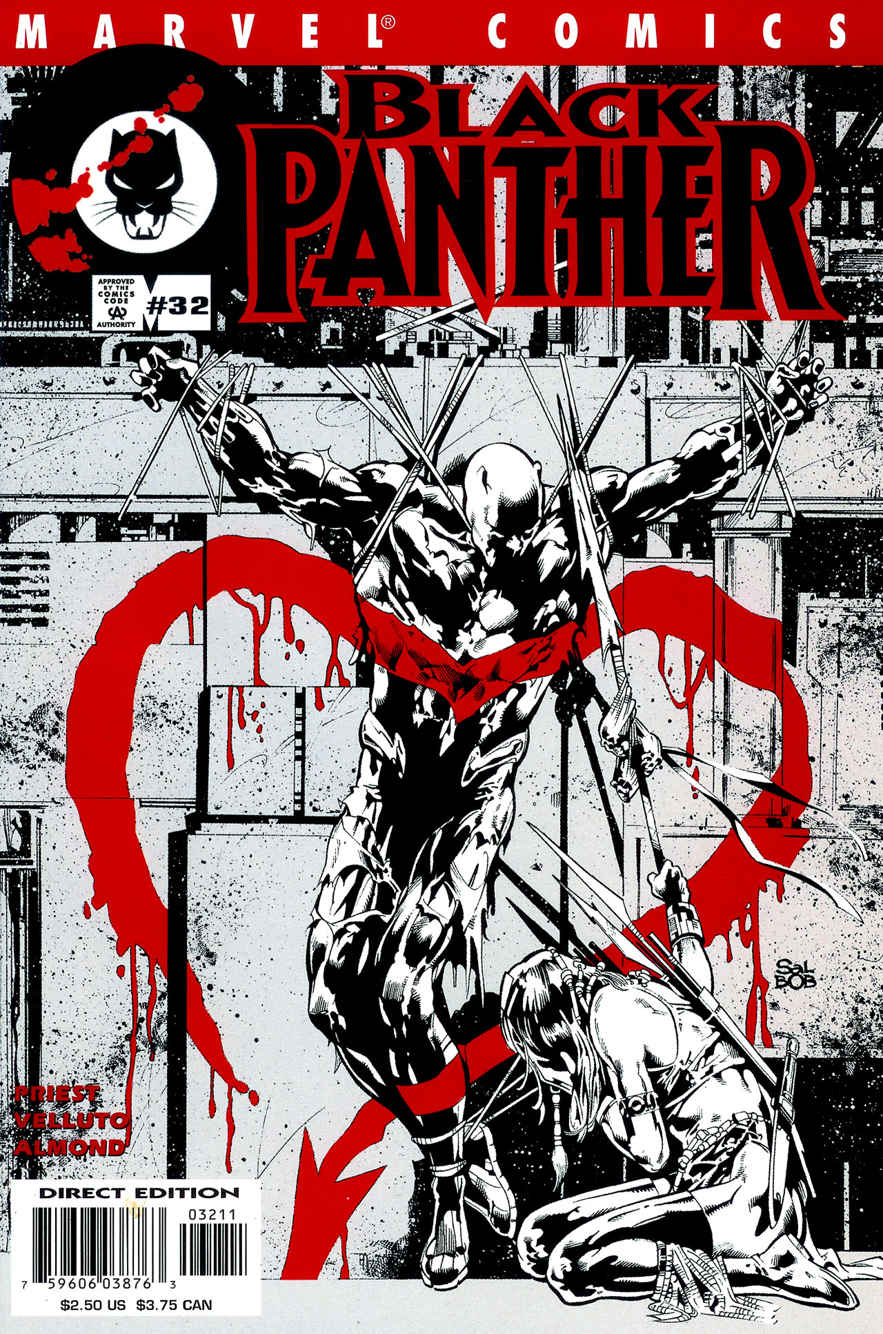 Black Panther (1998) 32 Page 1