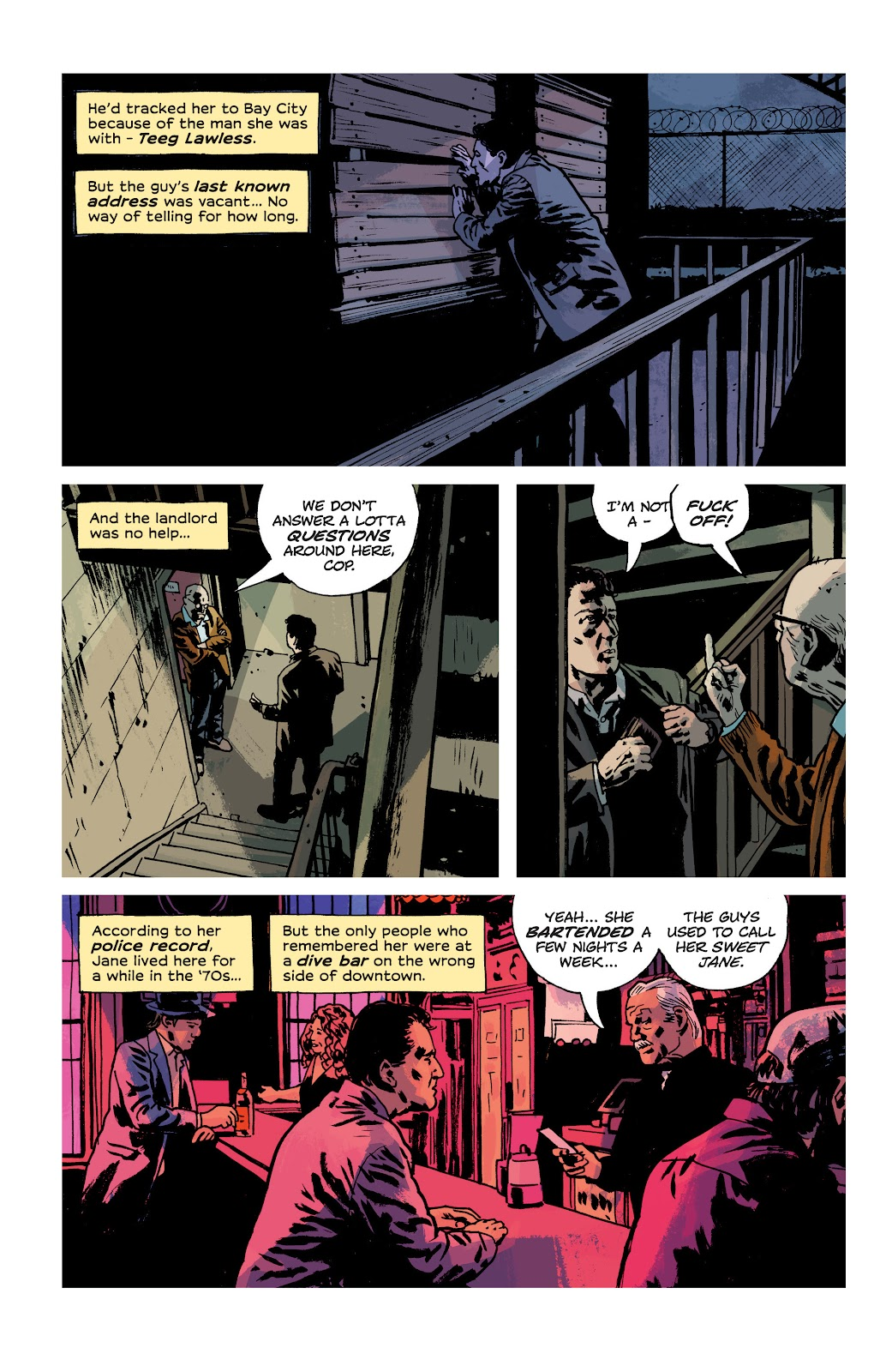 Read online Criminal (2019) comic -  Issue #10 - 5