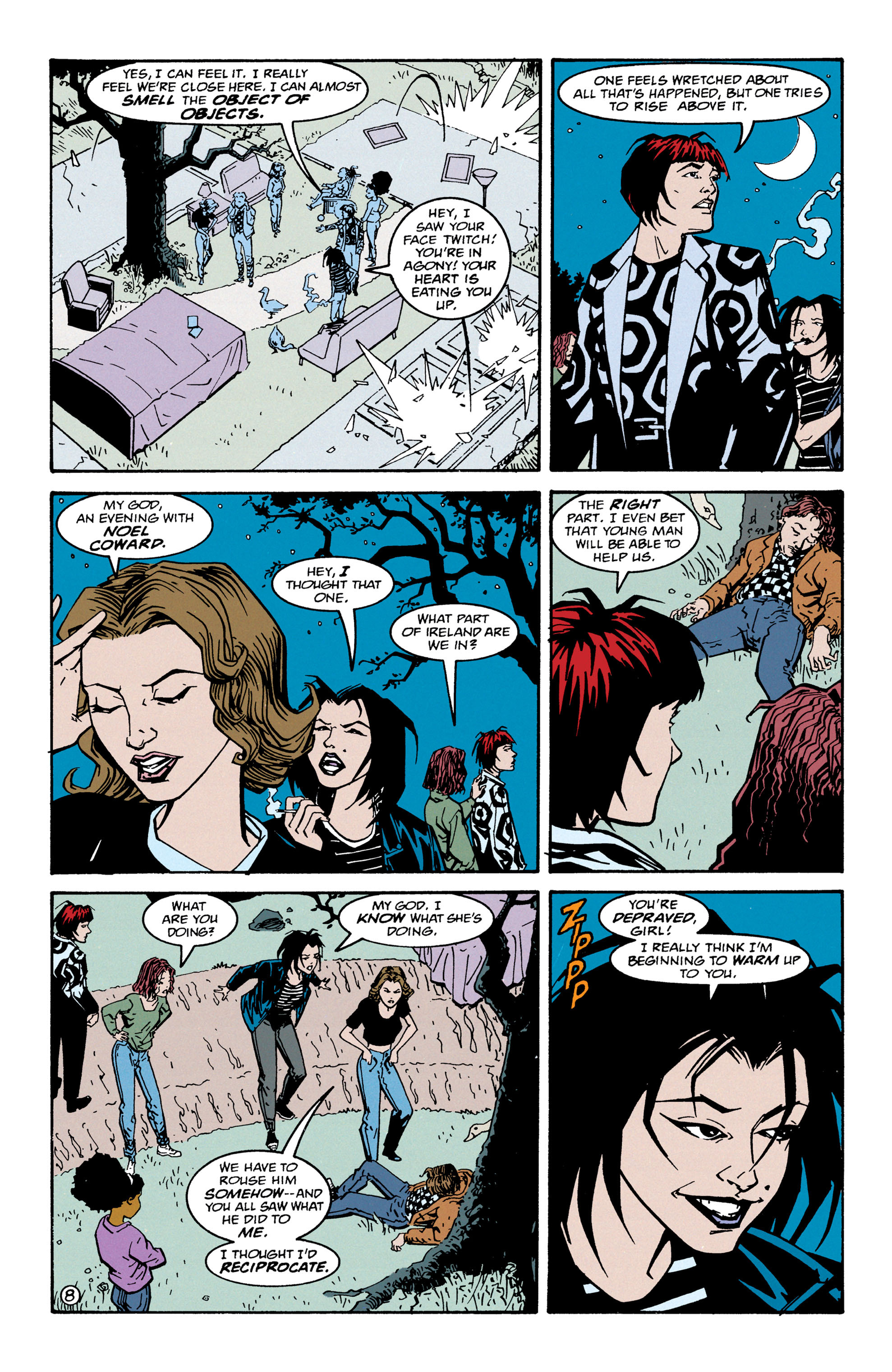 Read online Shade, the Changing Man comic -  Issue #67 - 9