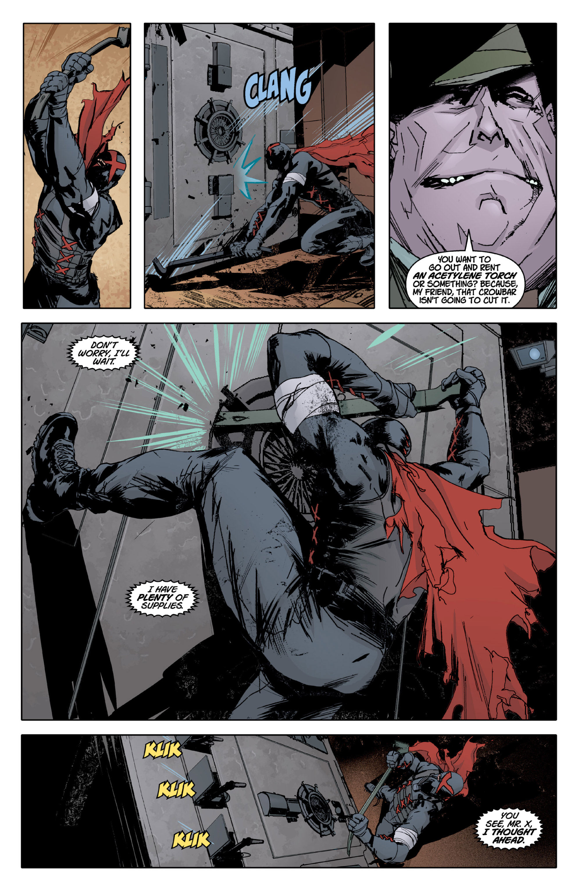 Read online X: Big Bad comic -  Issue # Full - 25