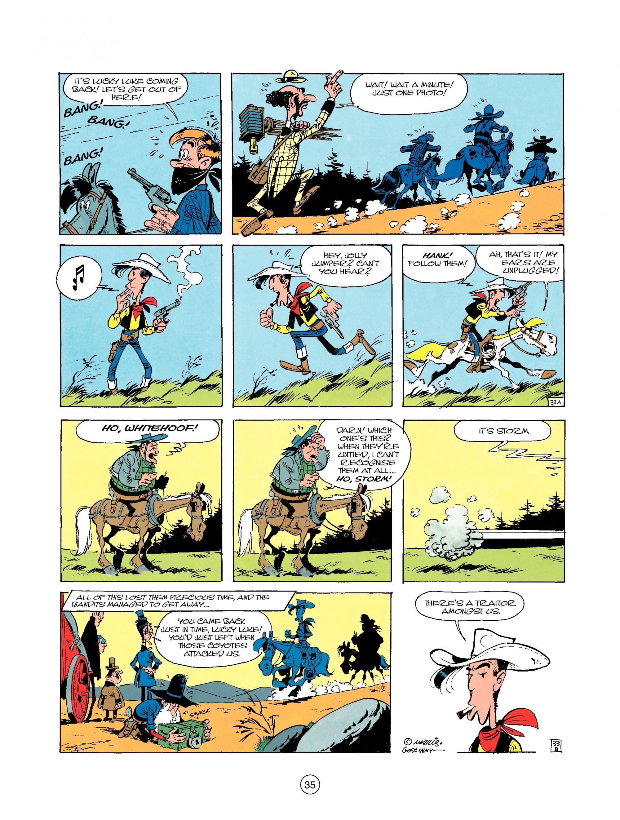 Read online A Lucky Luke Adventure comic -  Issue #25 - 35