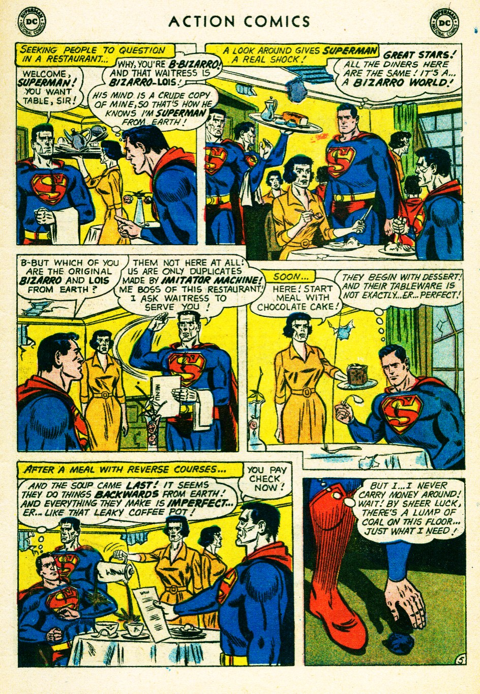 Read online Action Comics (1938) comic -  Issue #263 - 7