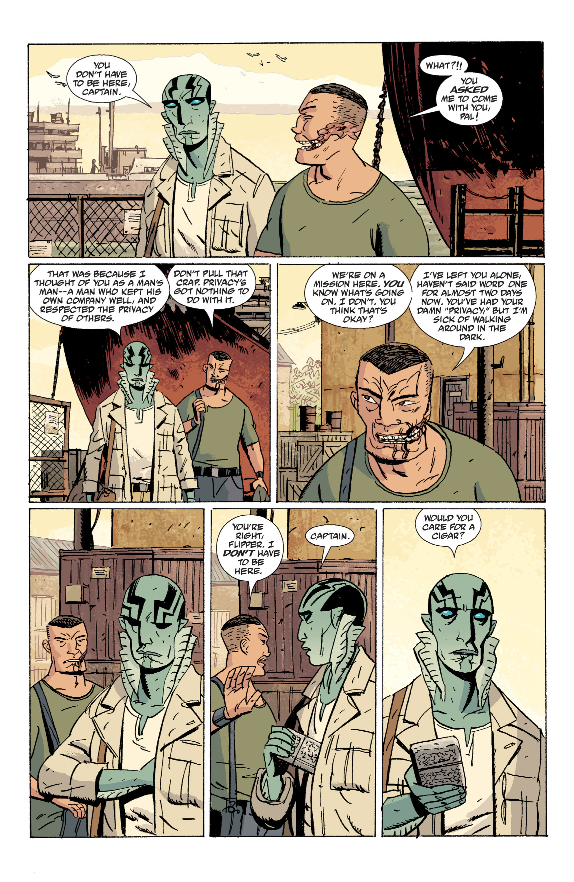 Read online B.P.R.D. (2003) comic -  Issue # TPB 7 - 37
