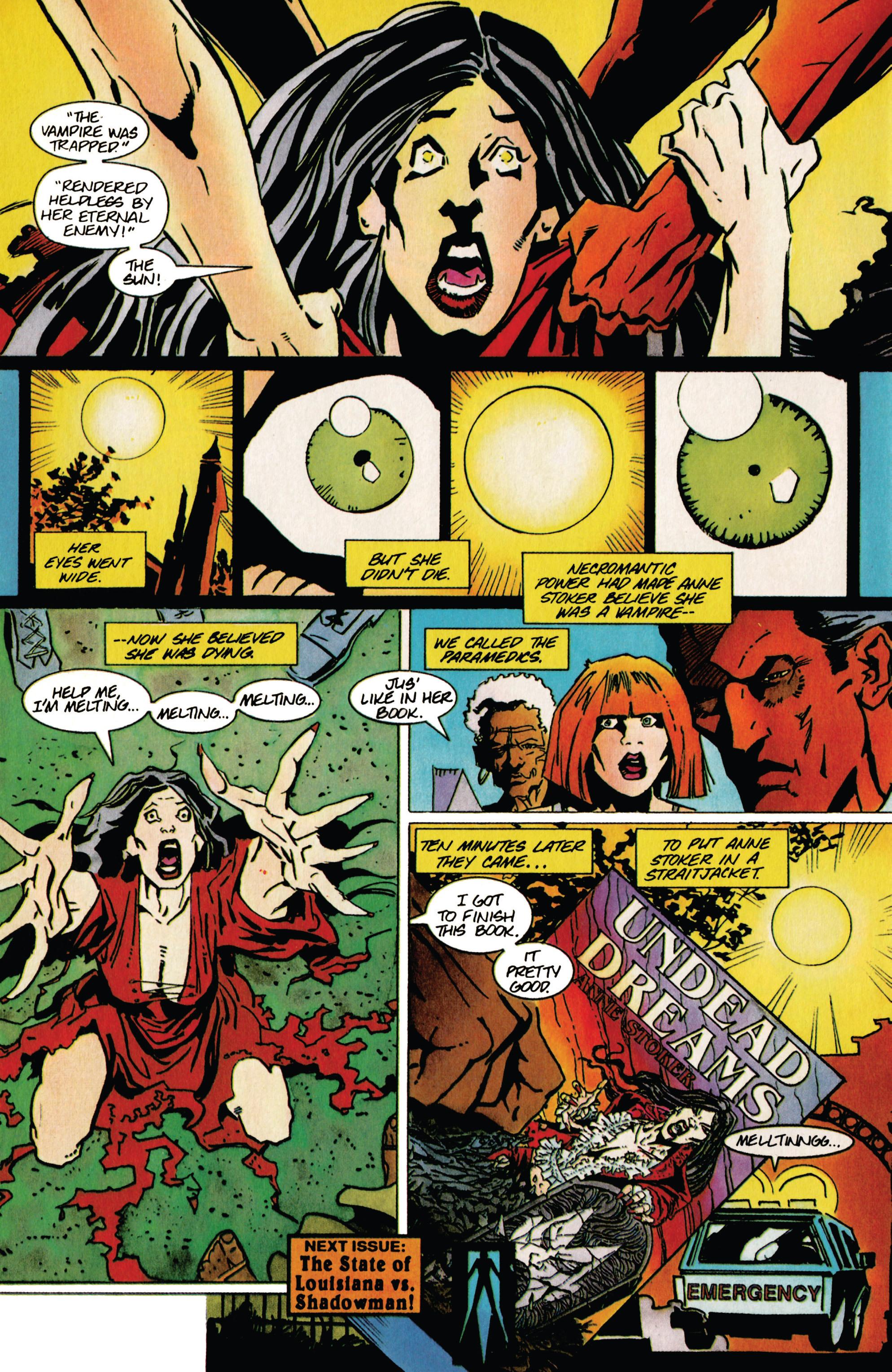 Read online Shadowman (1992) comic -  Issue #40 - 22