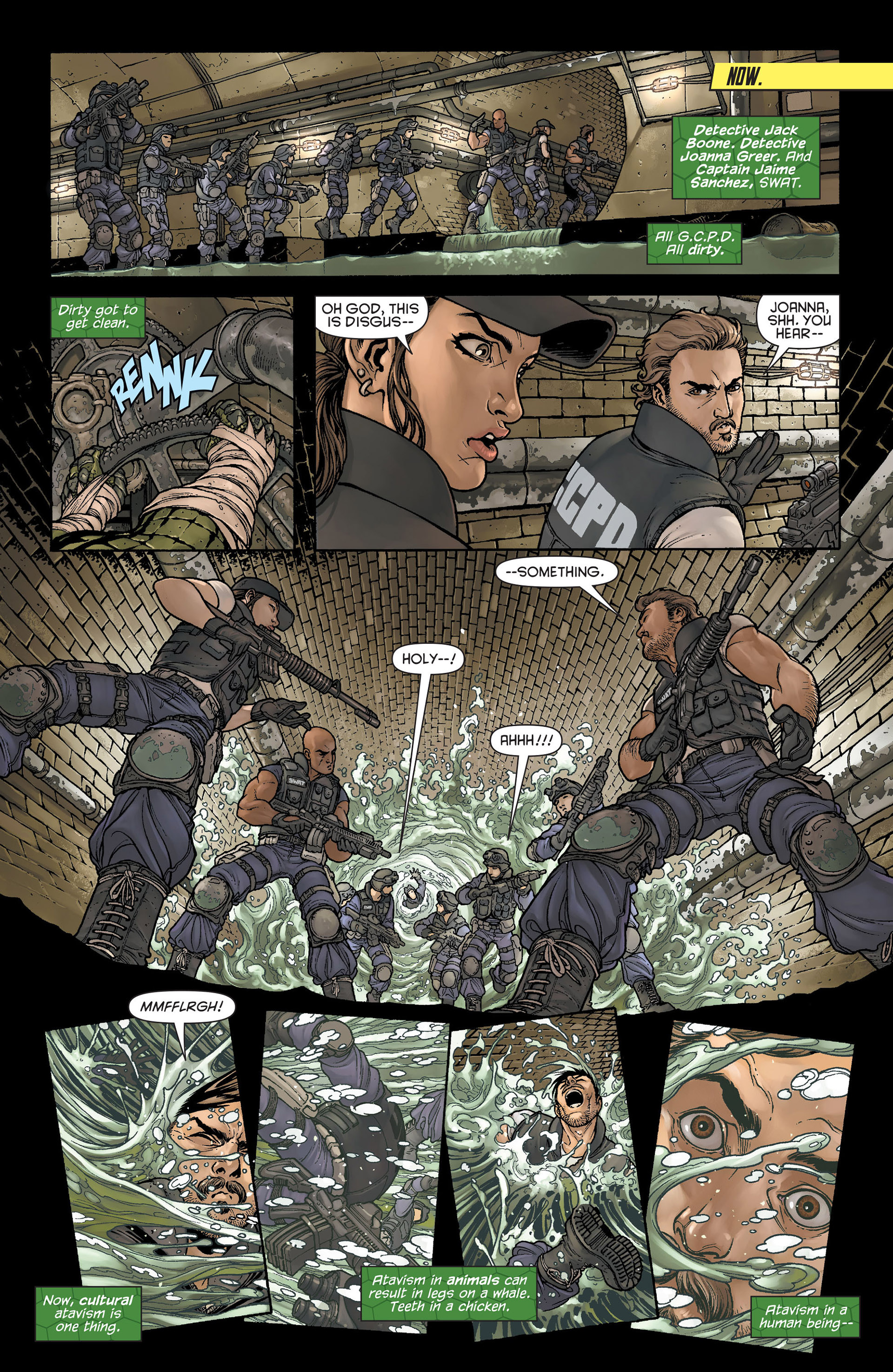 Read online Batman and Robin (2011) comic -  Issue #23.4 - 4