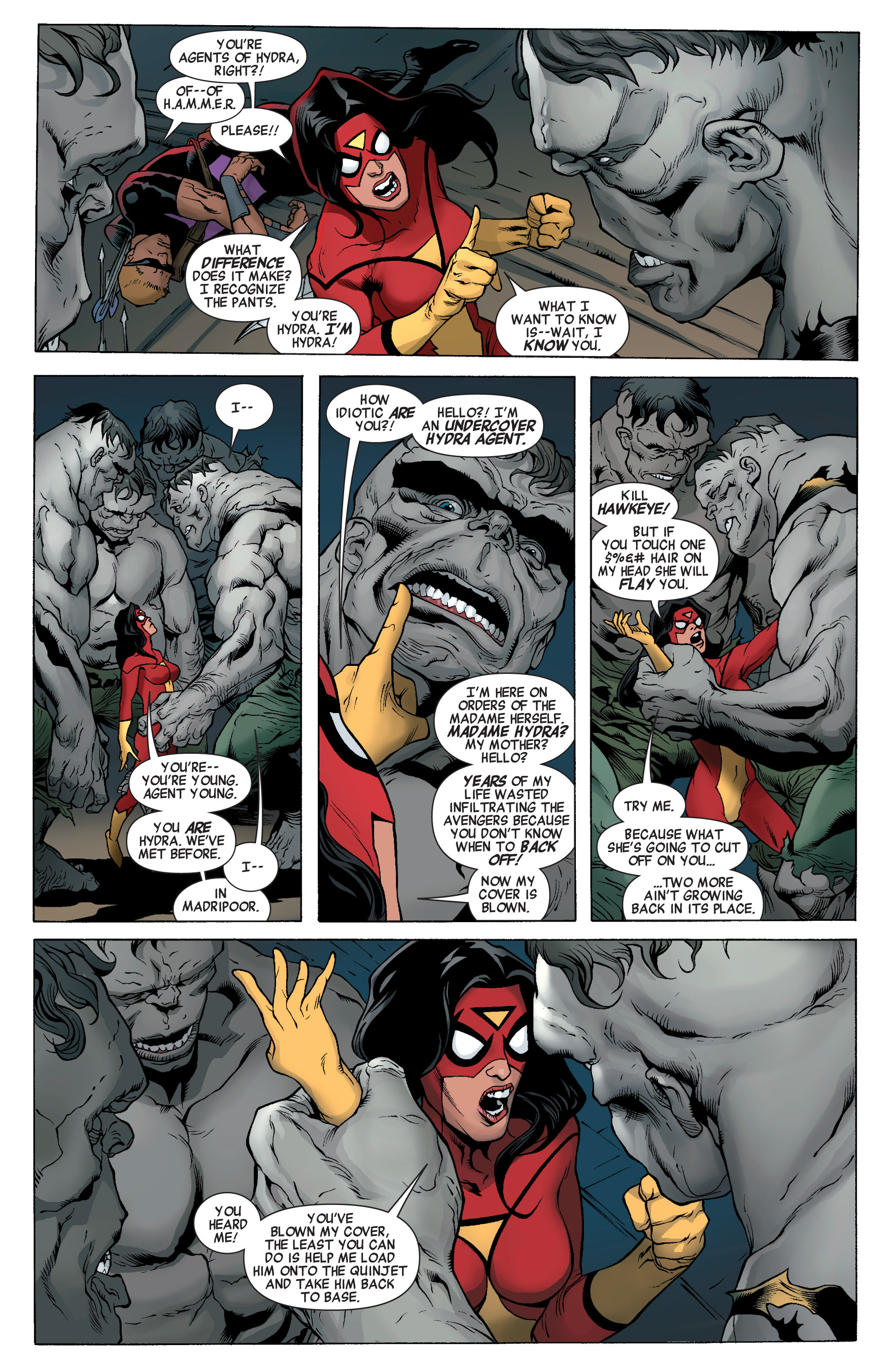 Read online Avengers (2010) comic -  Issue #21 - 4