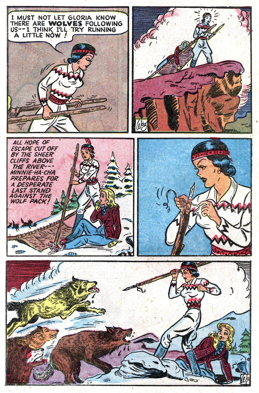 Read online Famous Funnies comic -  Issue #157 - 19