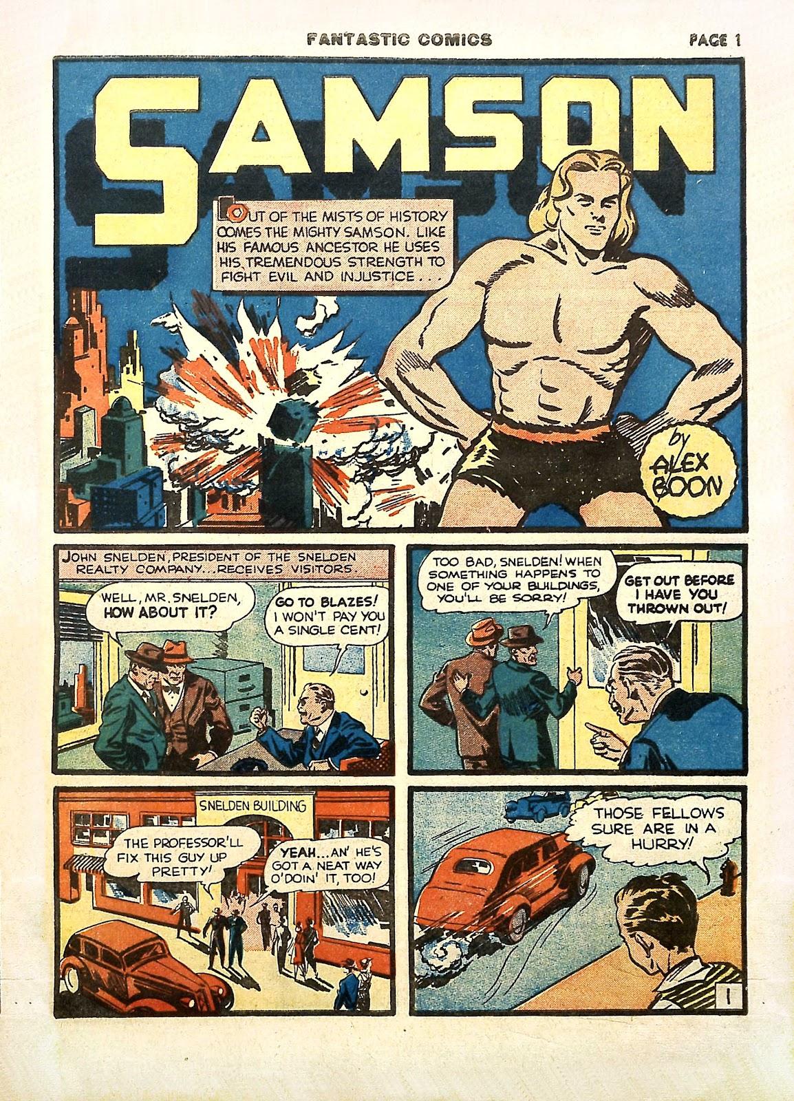 Read online Fantastic Comics comic -  Issue #11 - 4