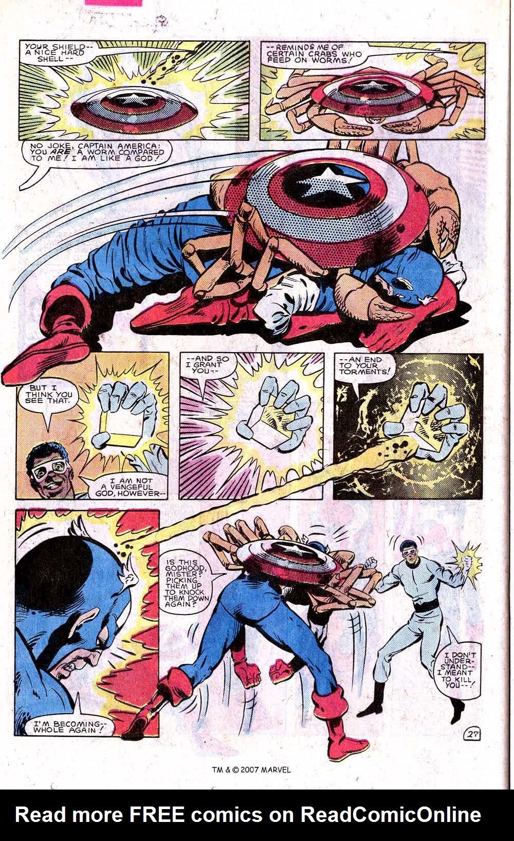 Read online Captain America (1968) comic -  Issue # _Annual 7 - 36