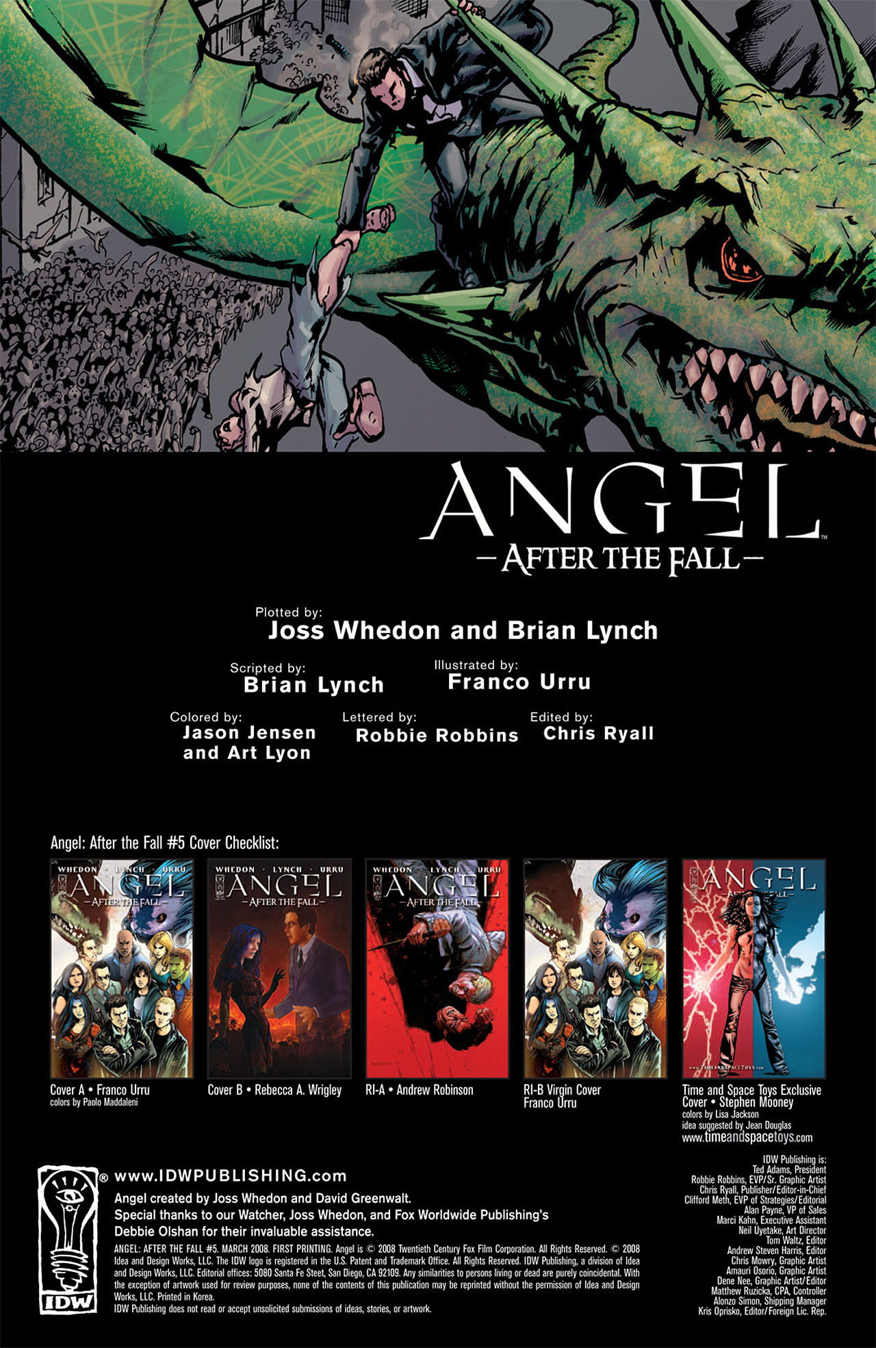 Read online Angel: After The Fall comic -  Issue #5 - 3