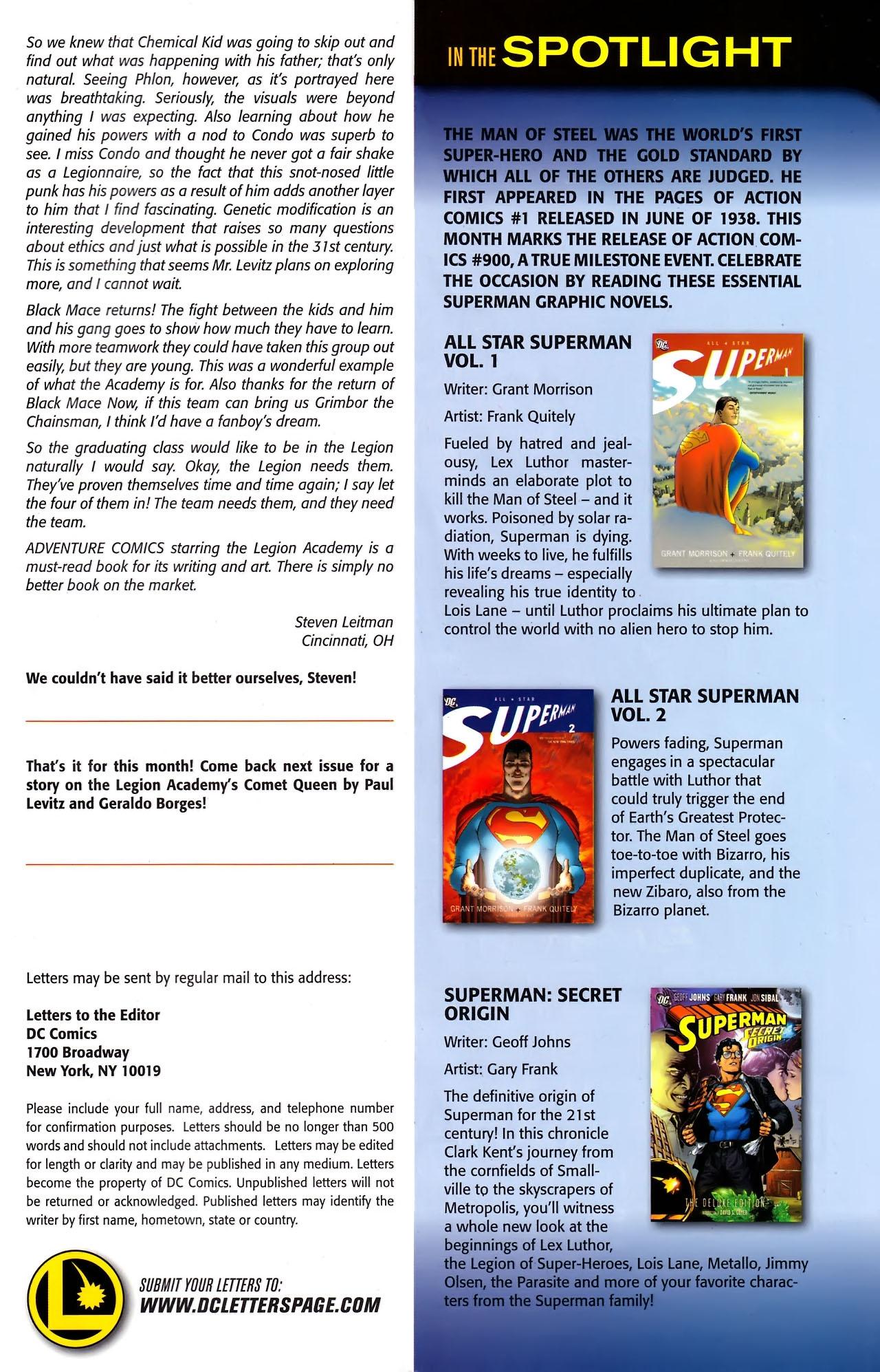 Read online Adventure Comics (1938) comic -  Issue #526 - 23