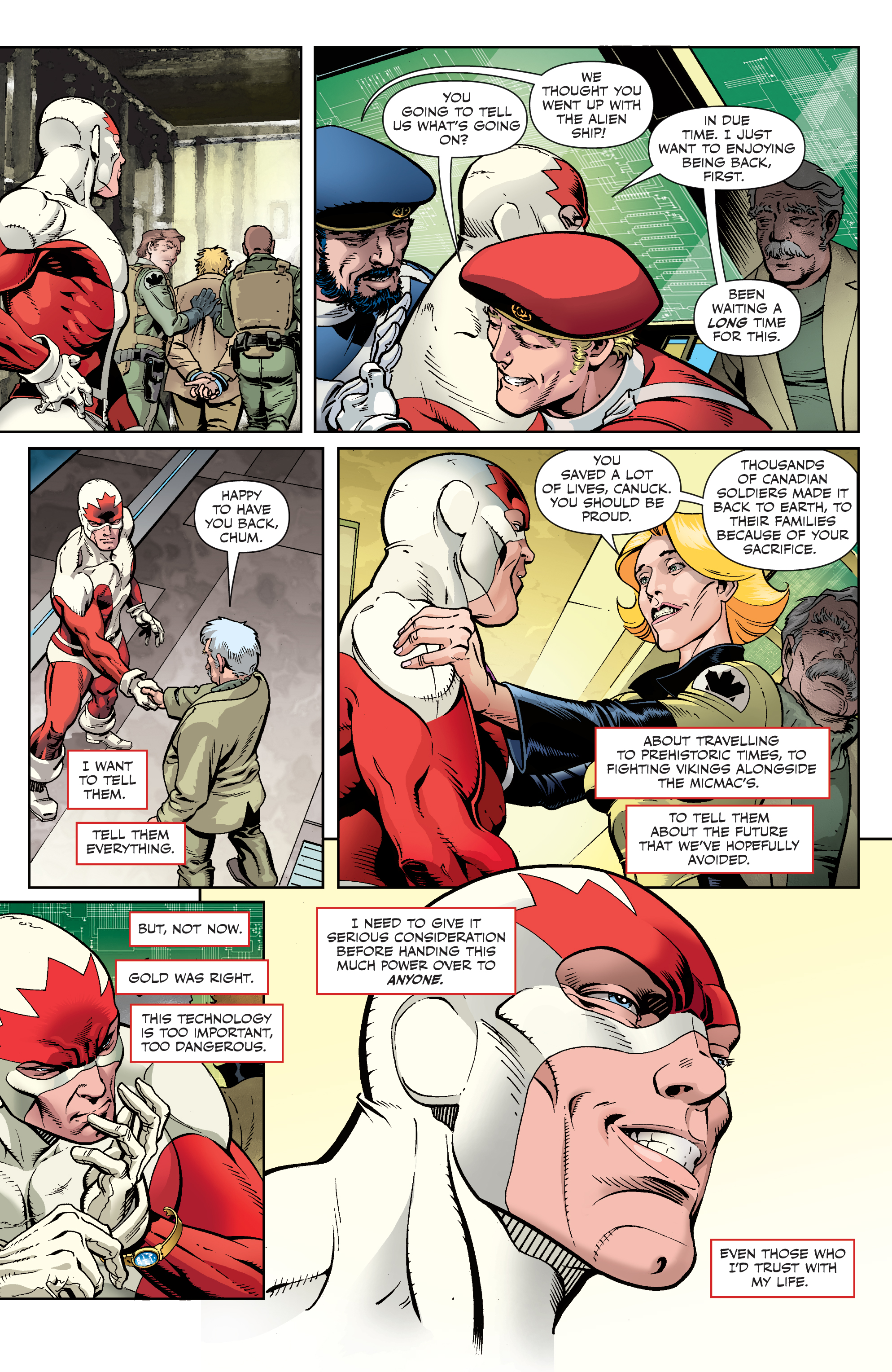 Read online All-New Classic Captain Canuck comic -  Issue #4 - 21