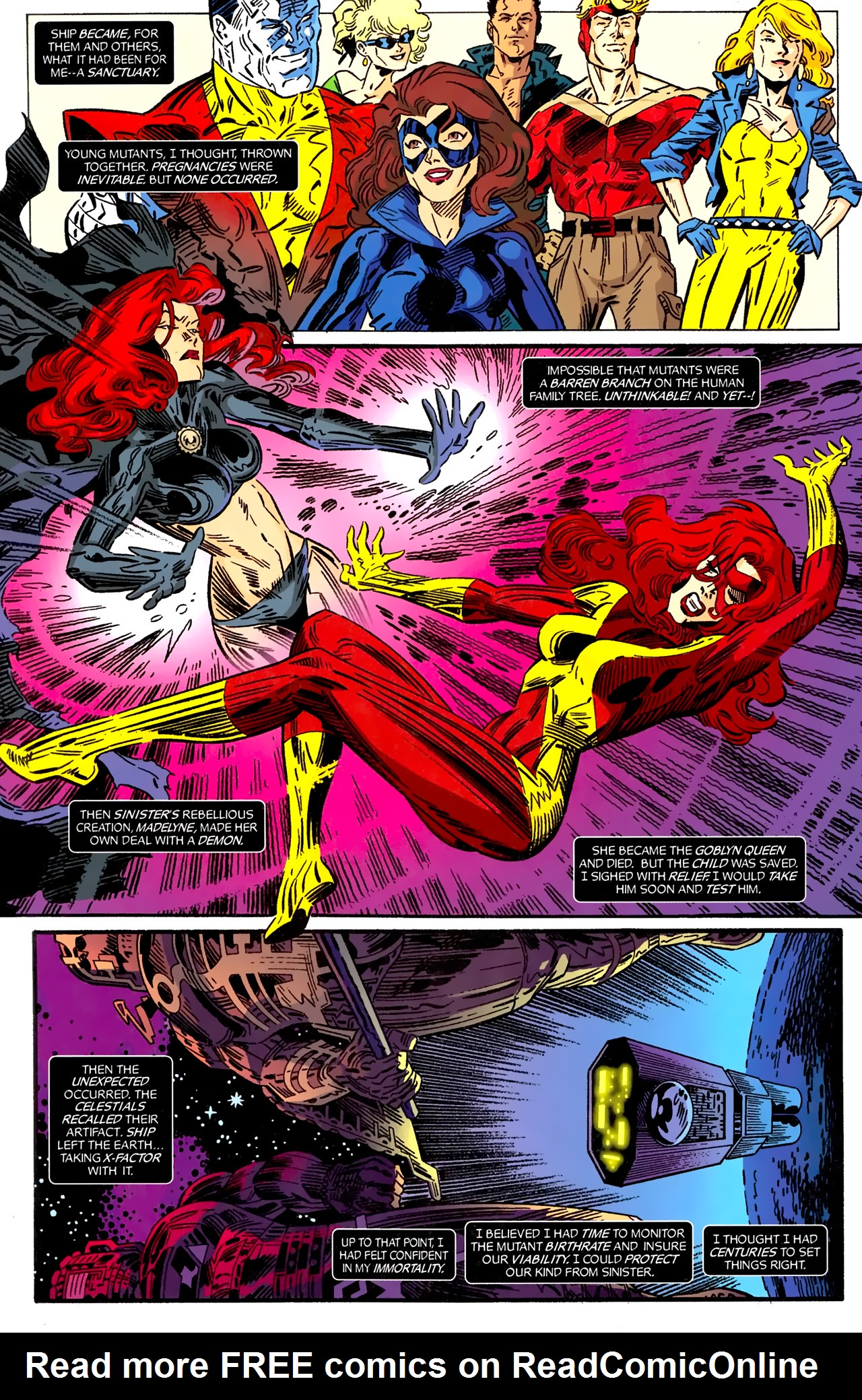 Read online X-Factor Forever comic -  Issue #5 - 23