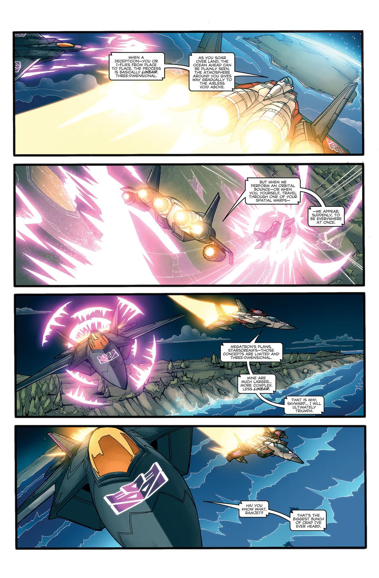 Read online Transformers Spotlight: Ramjet comic -  Issue # Full - 6